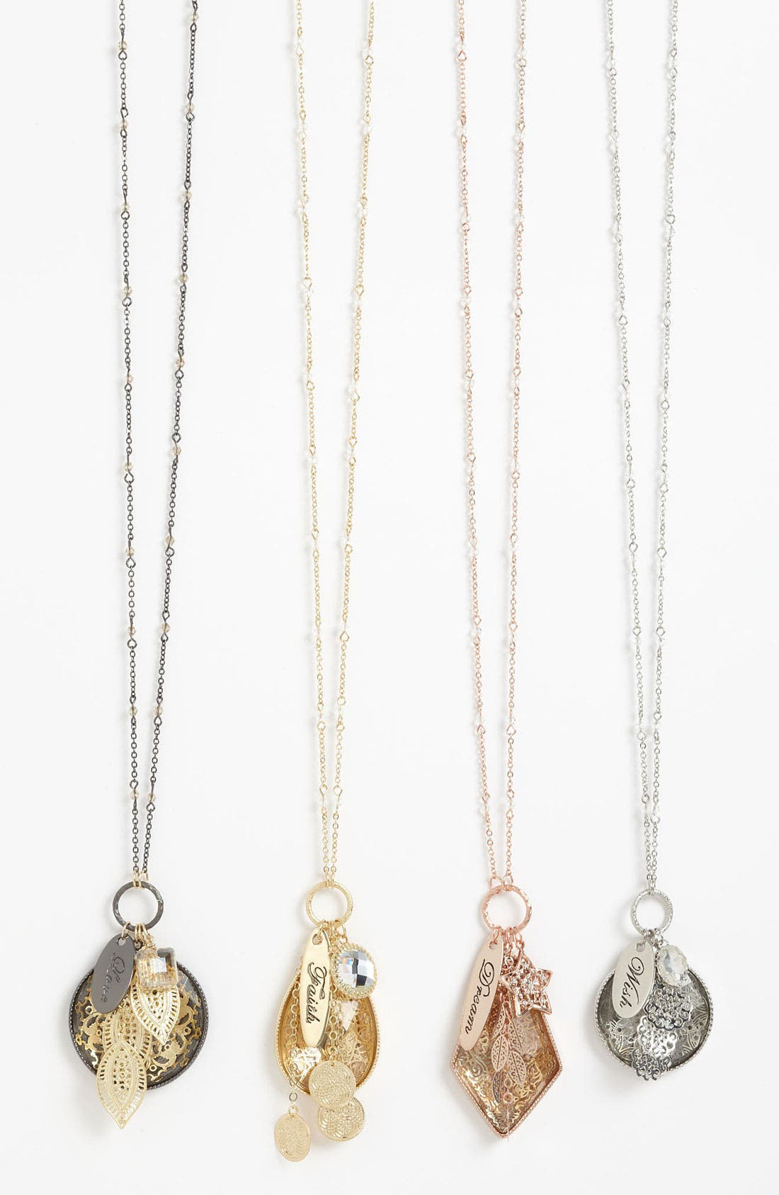 Main Image - Nordstrom 'Tinseltown' Long Cluster Pendant Necklace