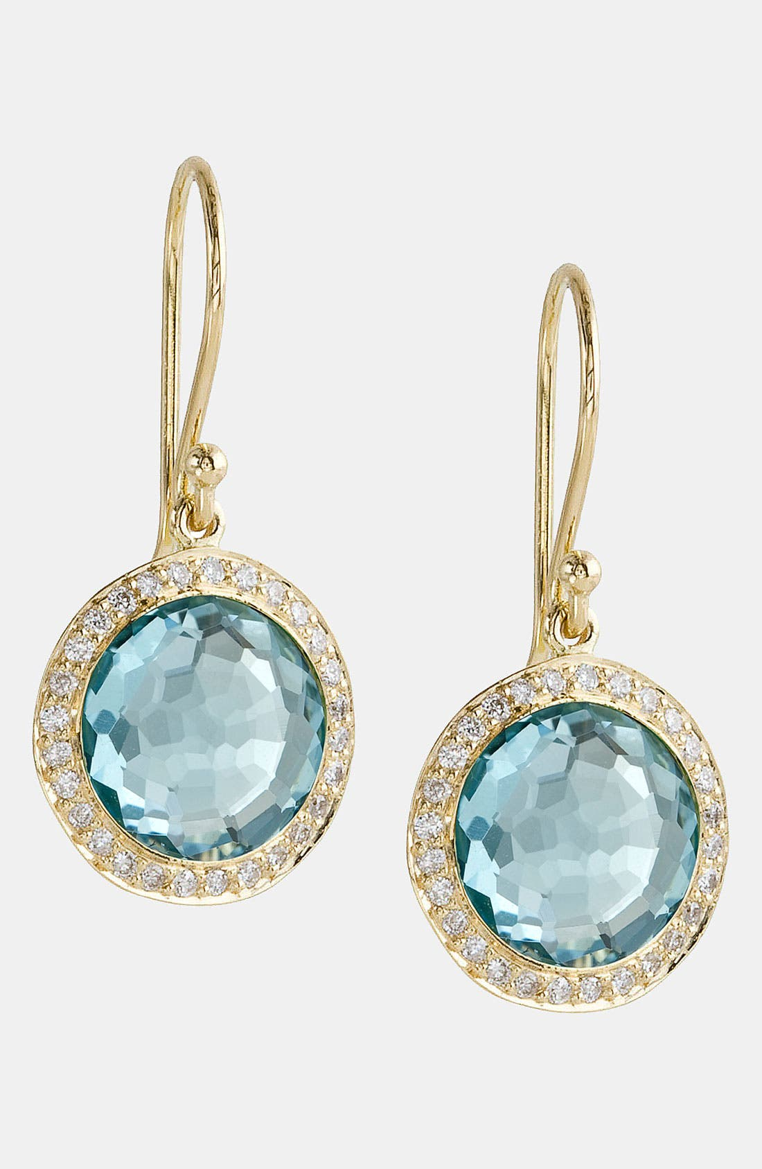 Alternate Image 1 Selected - Ippolita 'Rock Candy - Mini Lollipop' Diamond & 18k Gold Earrings