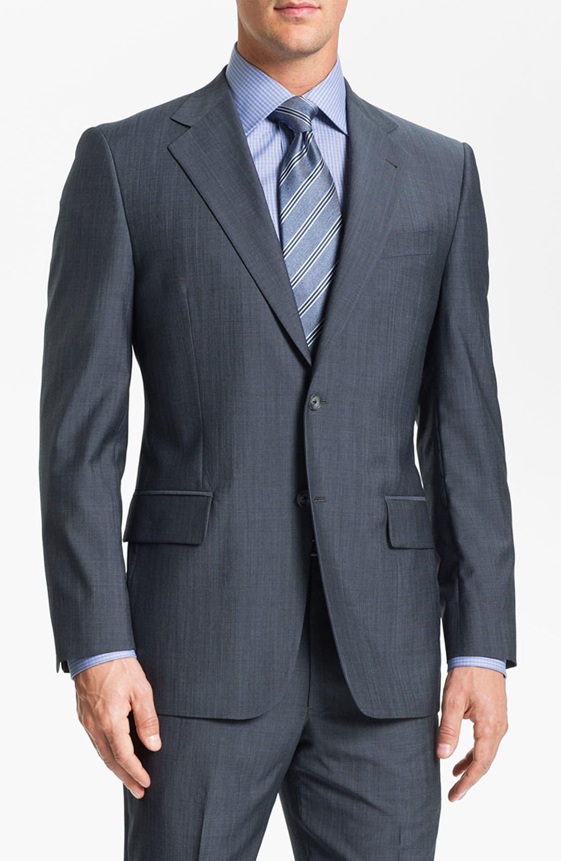Main Image - Joseph Abboud Wool Suit