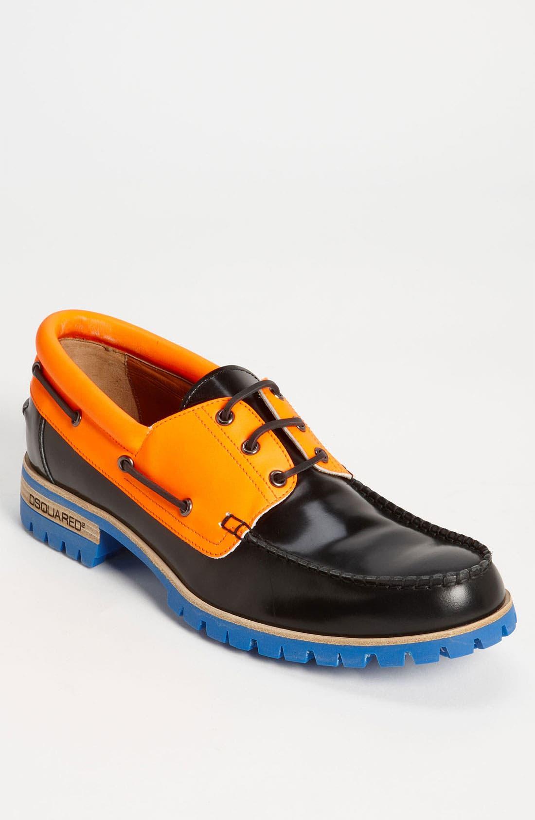 Main Image - Dsquared2 Multicolor Boat Shoe
