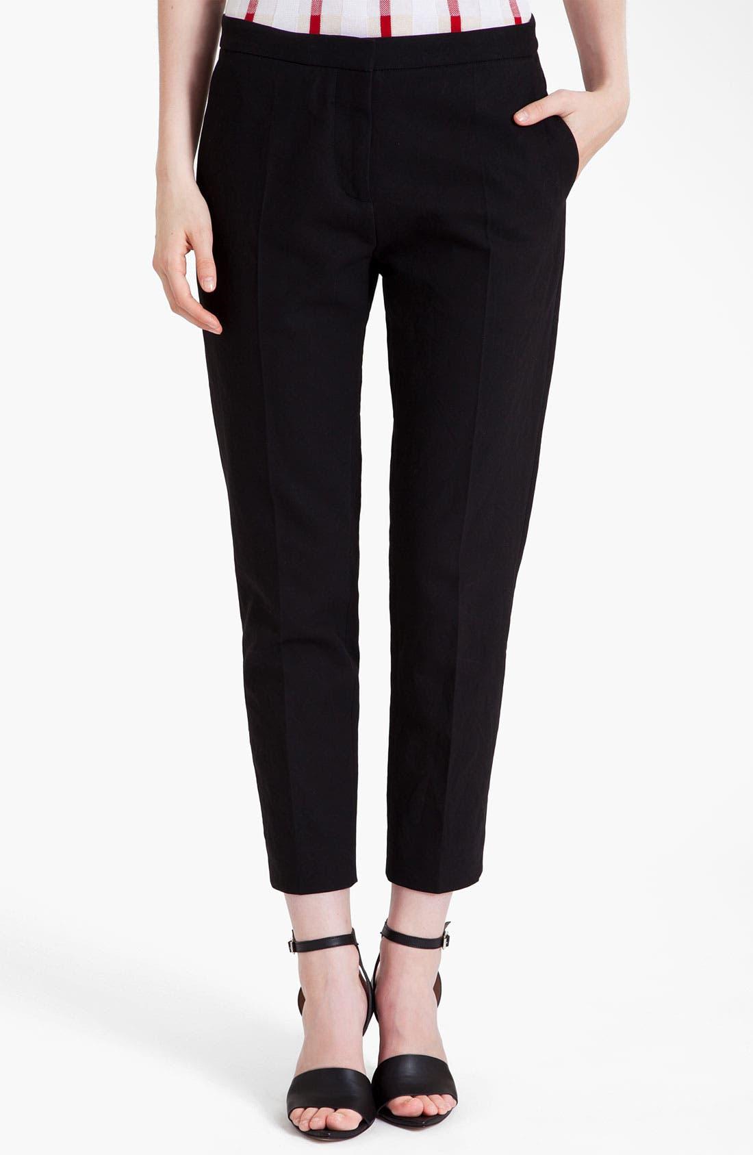 Main Image - Marni Compact Poplin Ankle Pants