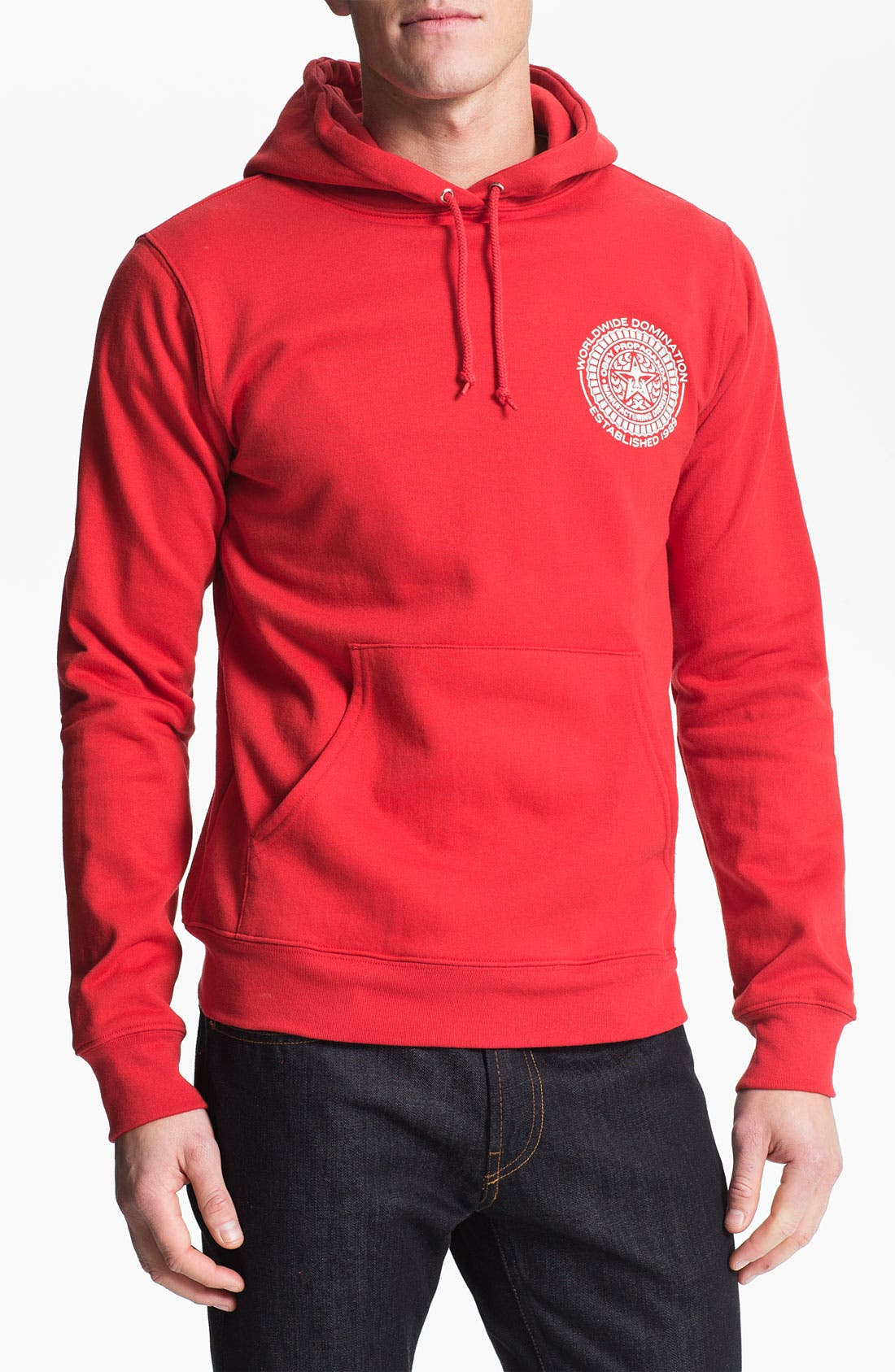 Alternate Image 1 Selected - Obey 'Legion' Graphic Hoodie