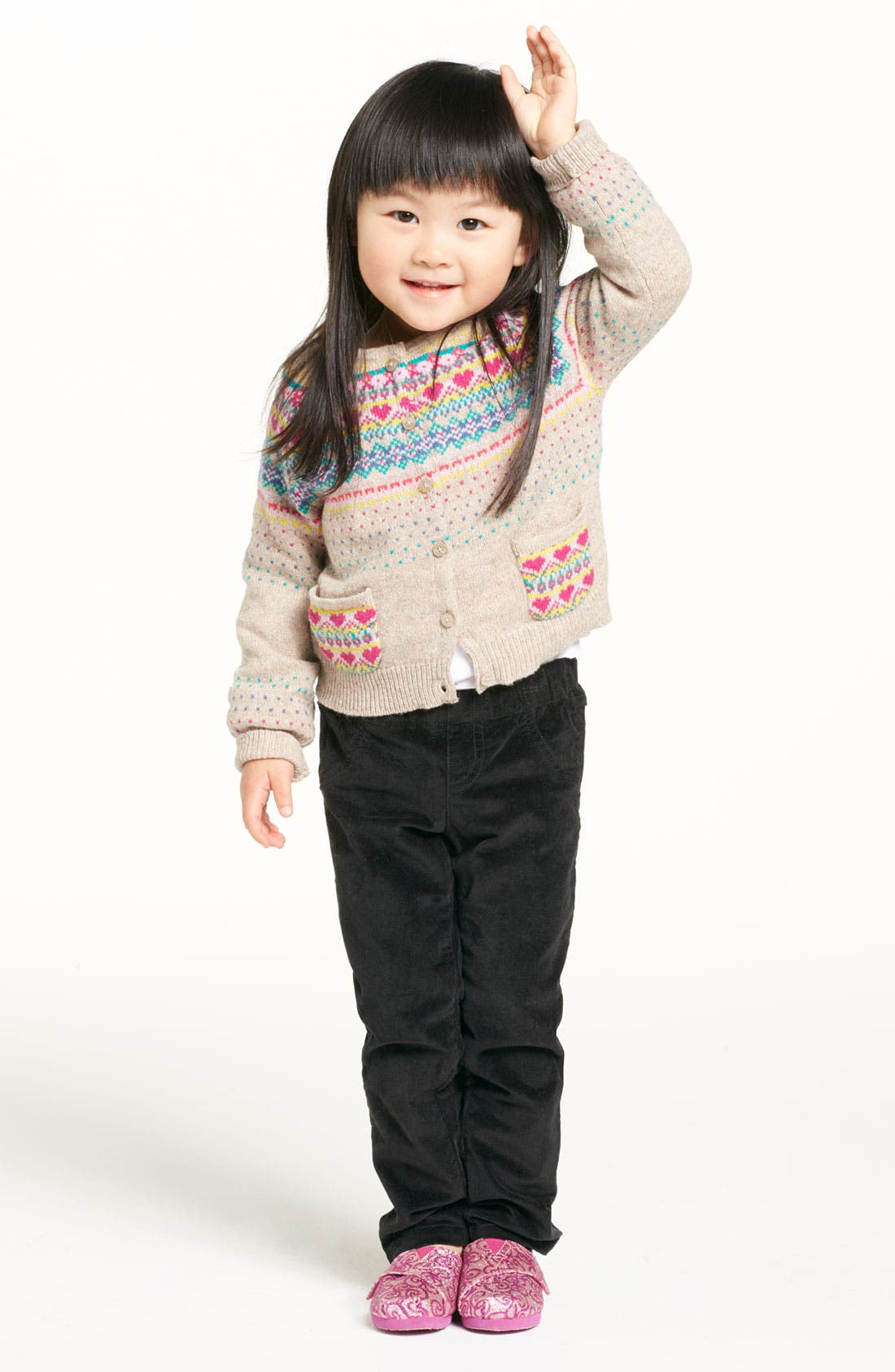 Alternate Image 2  - United Colors of Benetton Fair Isle Sweater (Toddler)