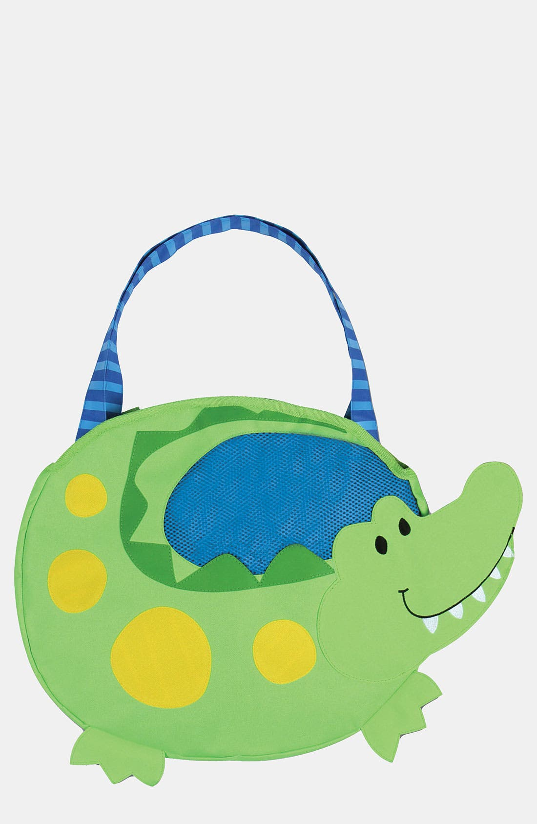 Alternate Image 1 Selected - Stephen Joseph 'Alligator' Beach Tote & Toys