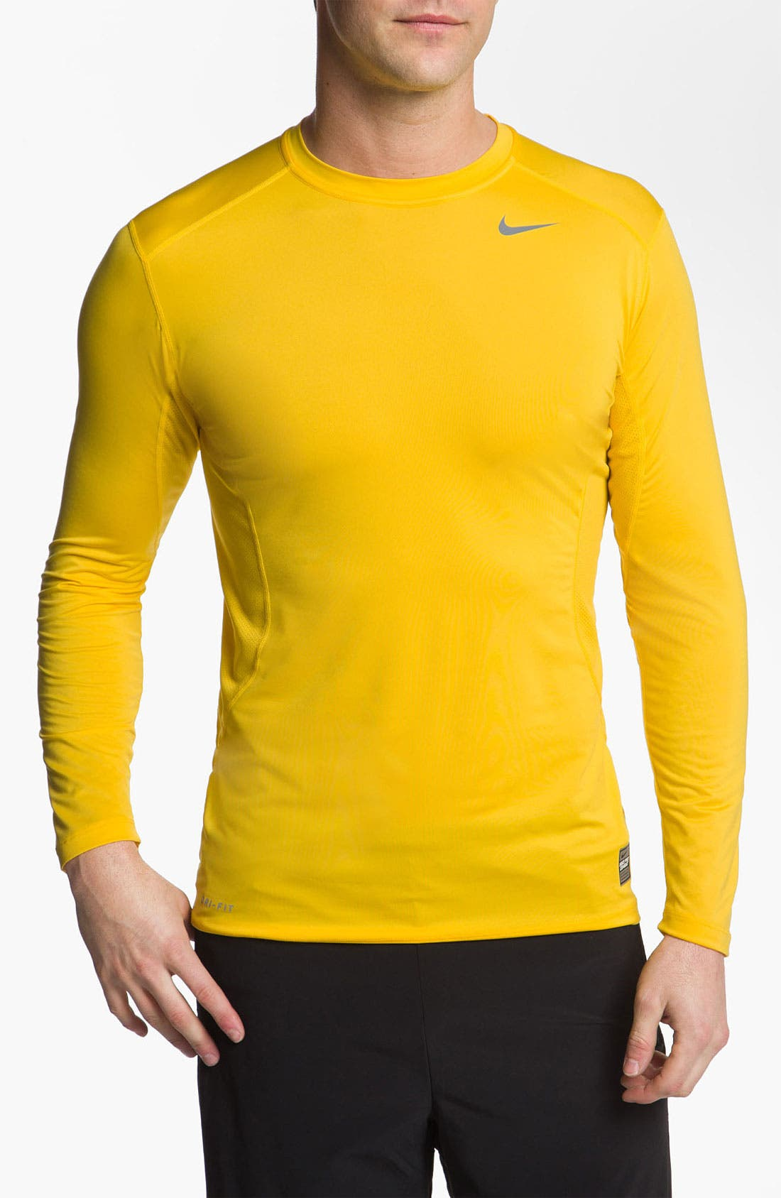 Main Image - Nike 'Core 2.0' Fitted Long Sleeve T-Shirt (Regular Retail Price: $32.00)