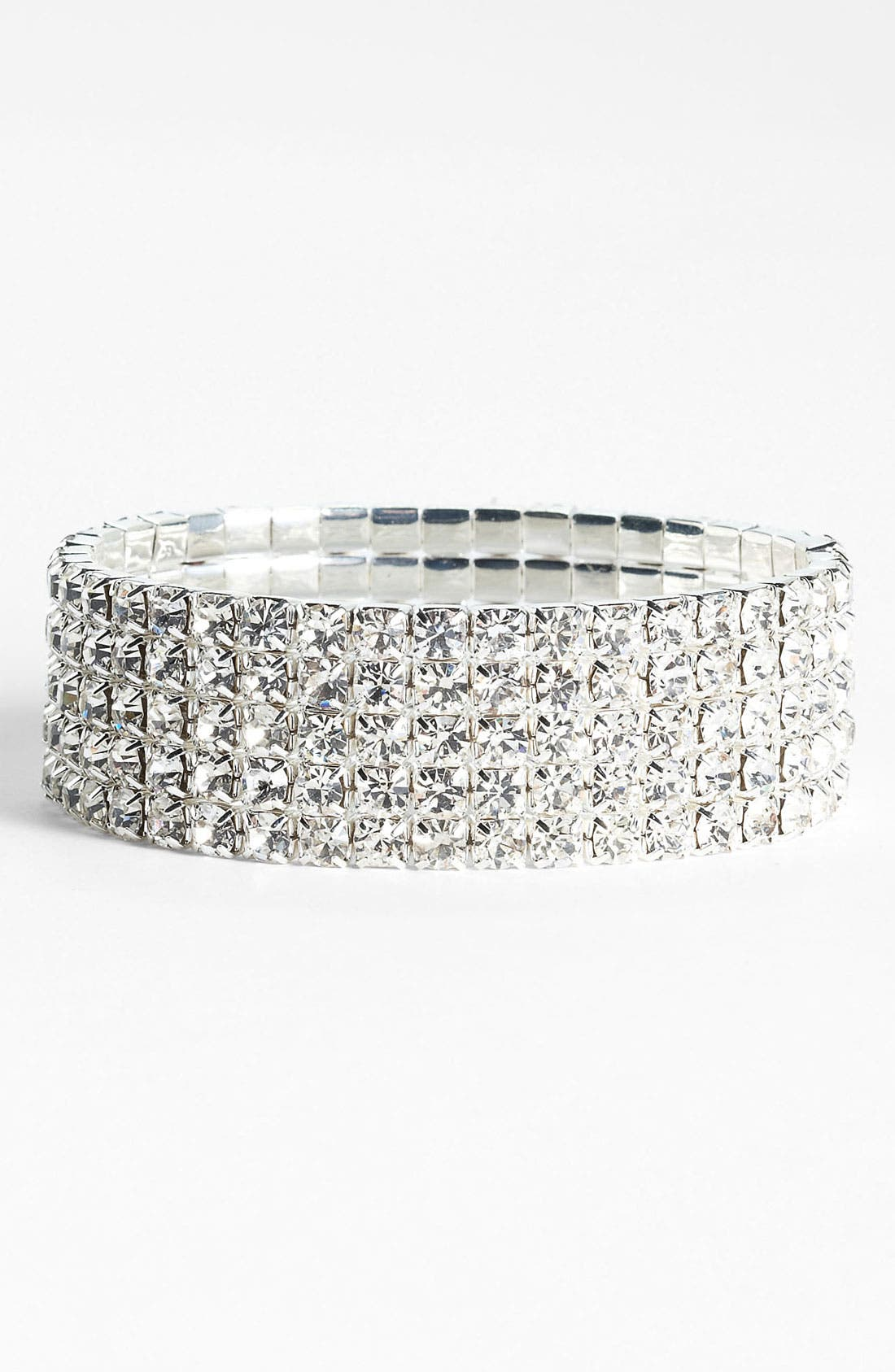 Main Image - Rosa Crystal Collection Jewelry Stretch Bracelet