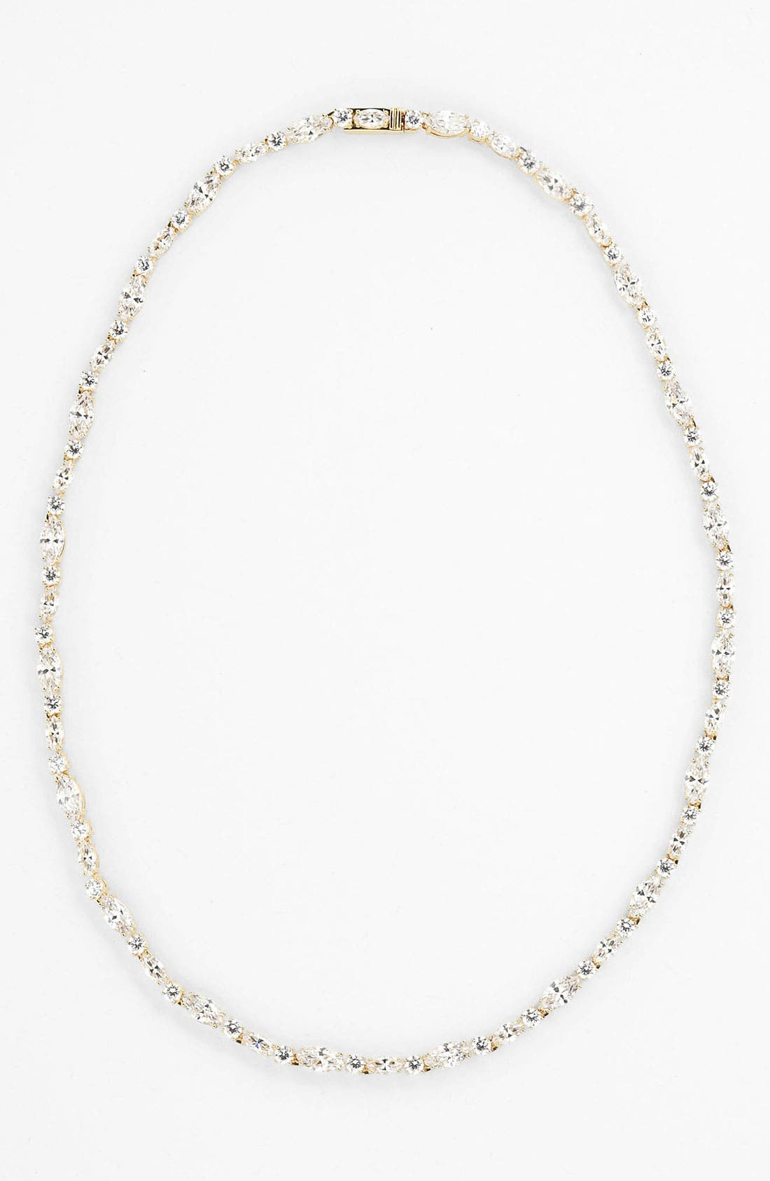 Main Image - Nadri Cubic Zirconia Cluster Collar Necklace (Nordstrom Exclusive)
