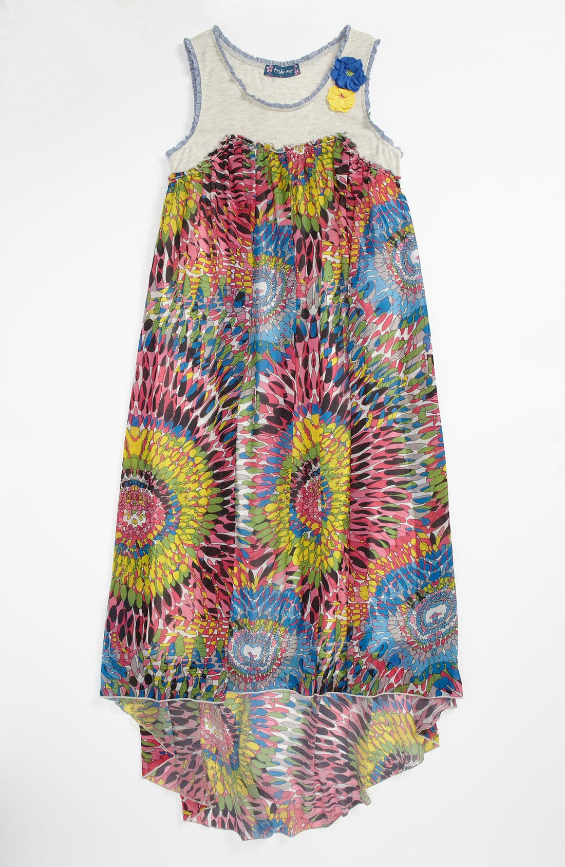 Alternate Image 1 Selected - Truly Me Maxi Dress (Little Girls & Big Girls)
