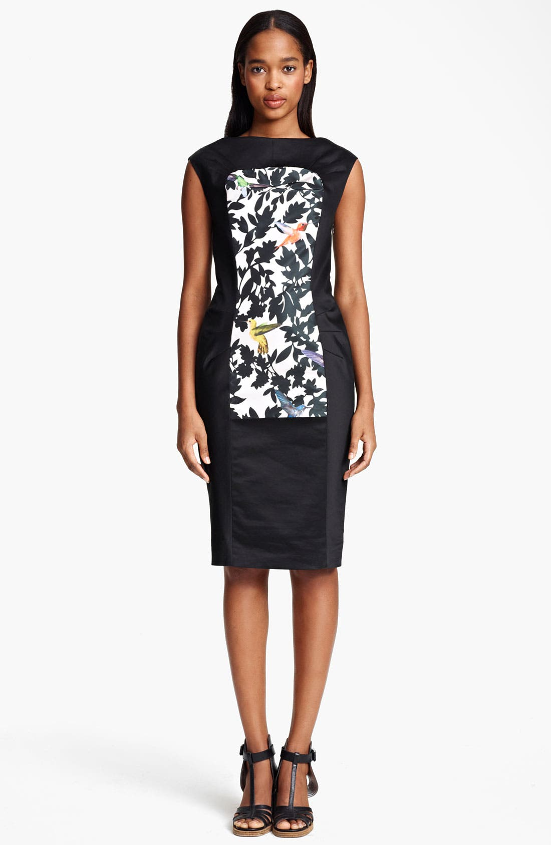 Main Image - Thakoon Bird Print Sheath Dress
