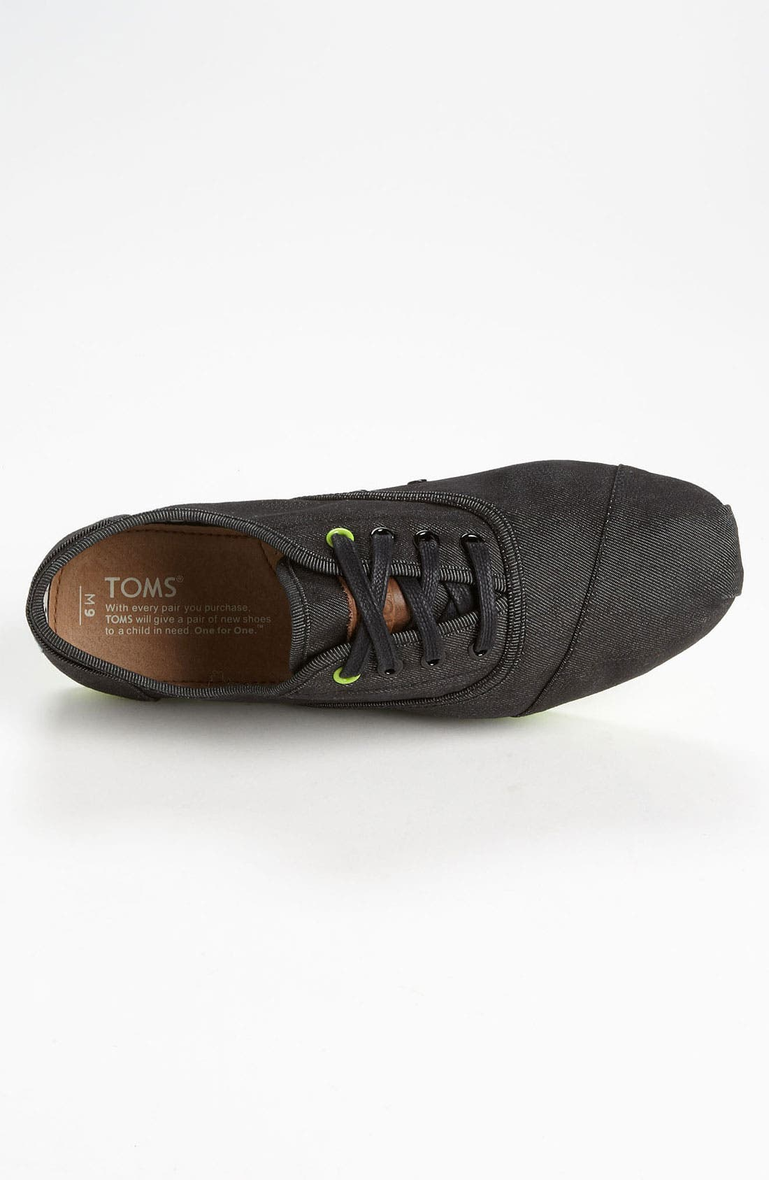 Alternate Image 3  - TOMS 'Cordones' Denim Sneaker (Men)