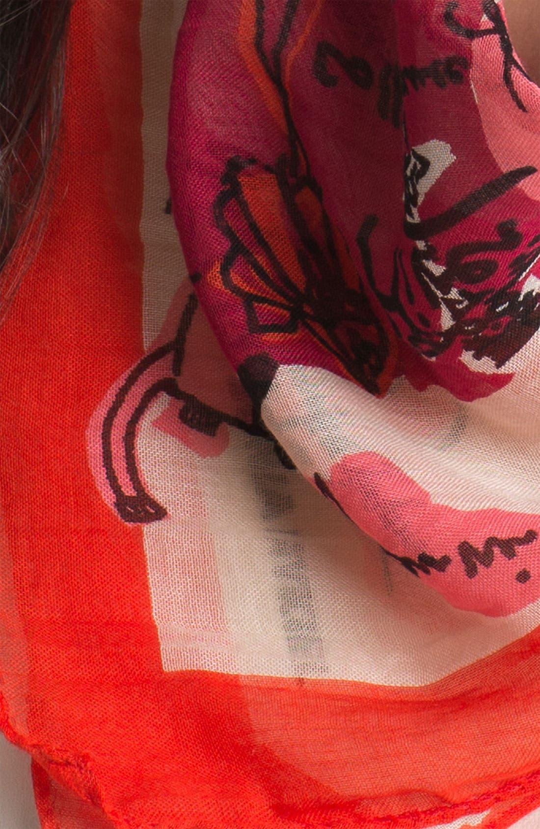 Alternate Image 2  - Sonia Rykiel 'Seasons' Print Square Scarf