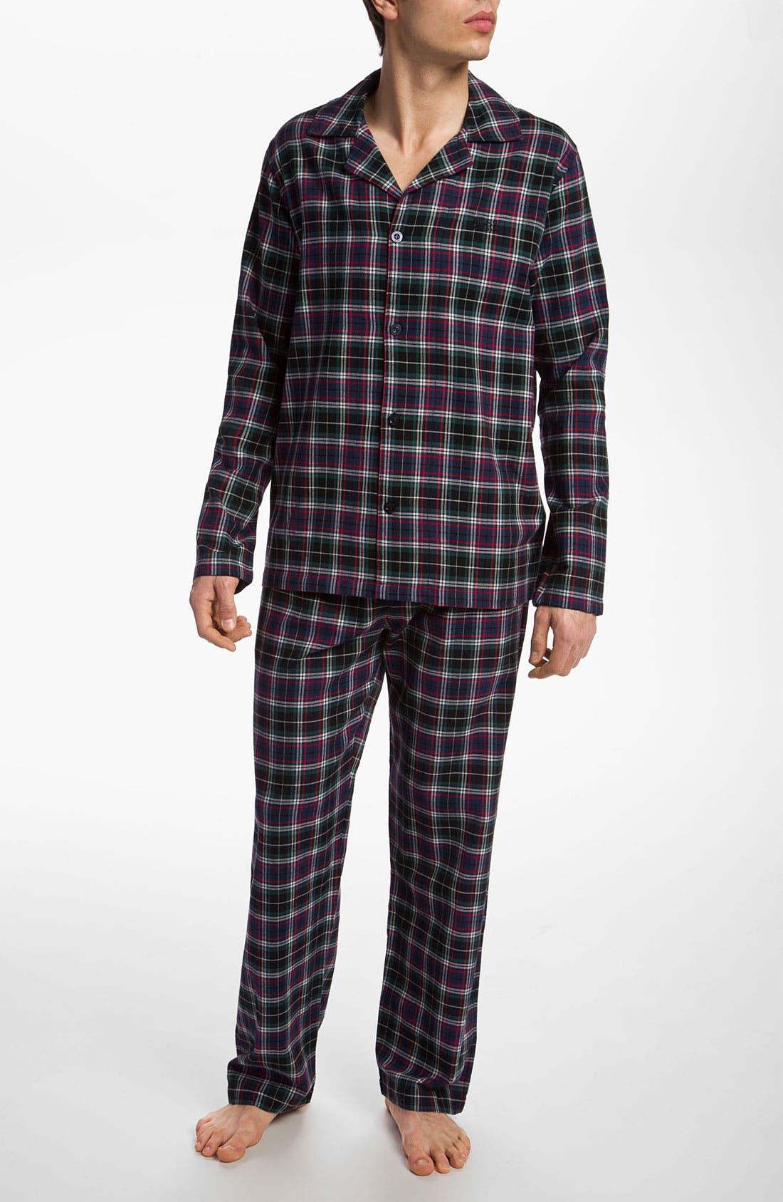 Alternate Image 1 Selected - BOSS Black 'Innovation 3' Pajama Set