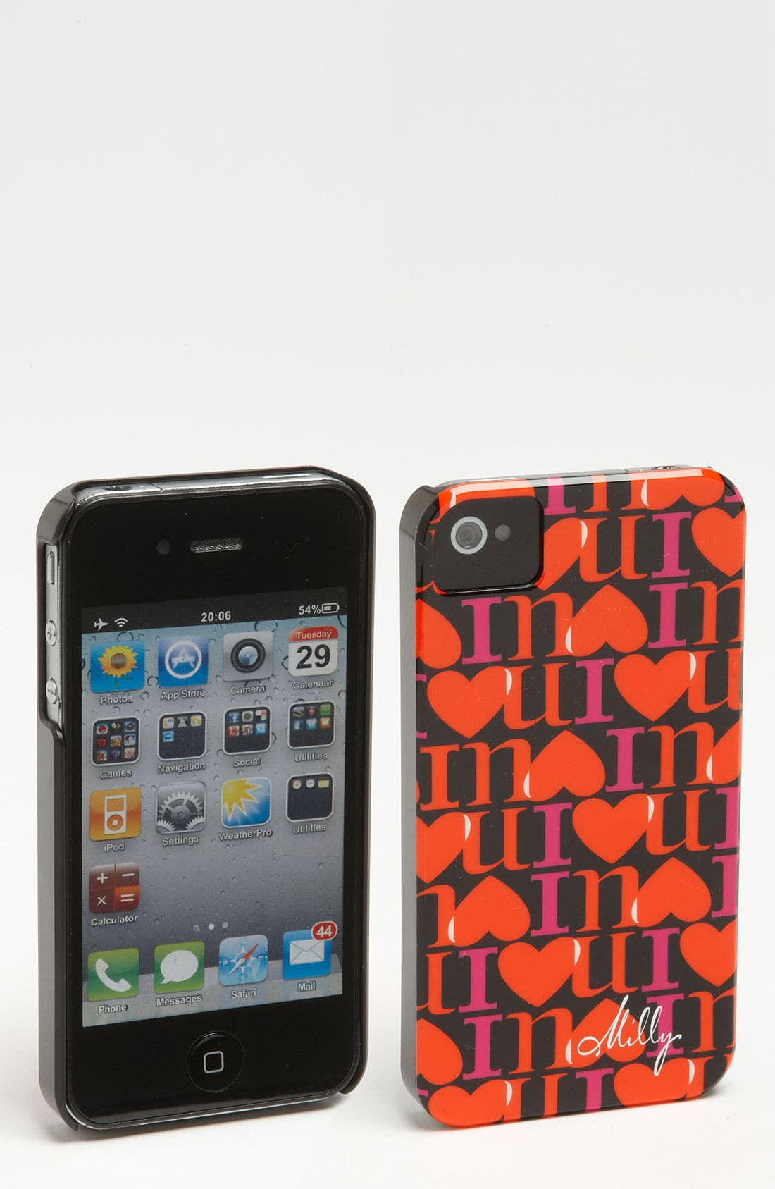 Alternate Image 1 Selected - Milly 'I Love You' iPhone 4 & 4S Case
