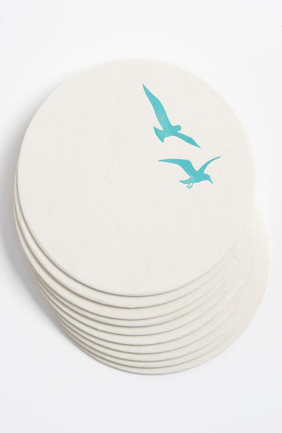 Alternate Image 1 Selected - 'Seagulls' Letterpress Coasters (Set of 10)