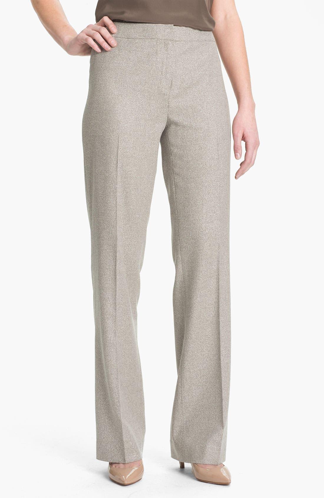 Alternate Image 1 Selected - Lafayette 148 New York Menswear Suiting Pants