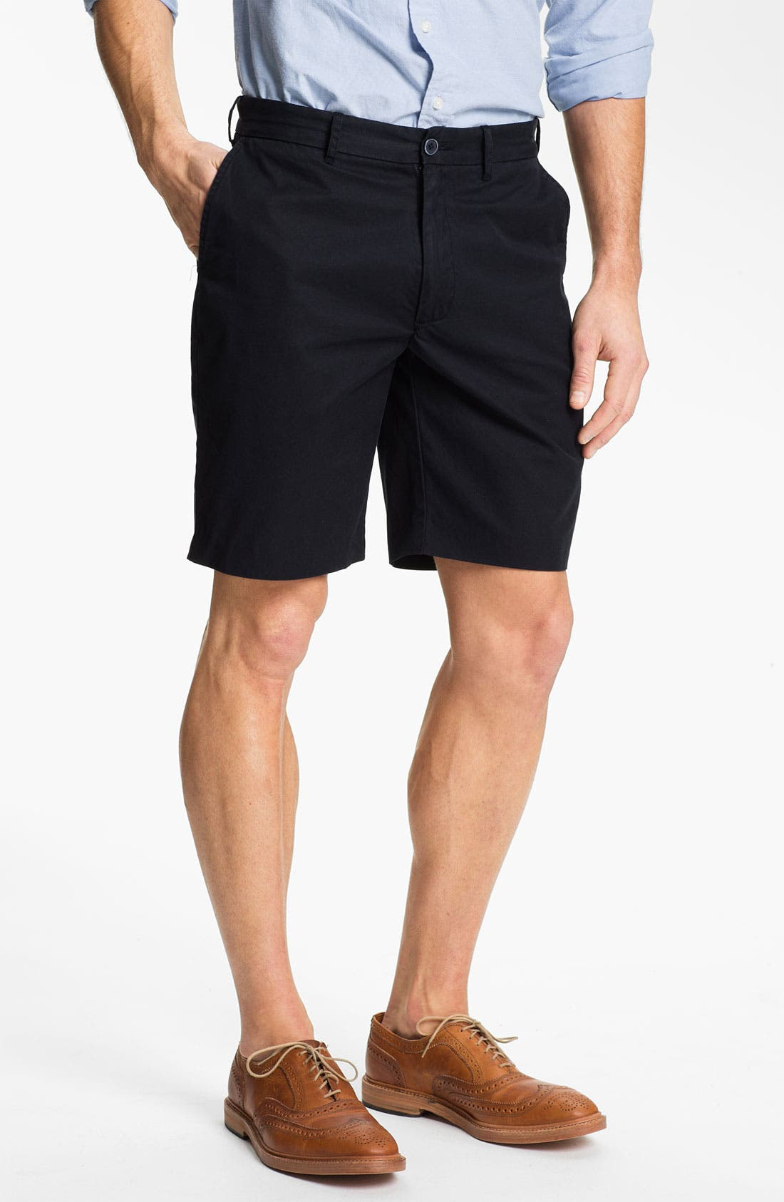 Main Image - Grayers 'Menswear Club' Flat Front Shorts