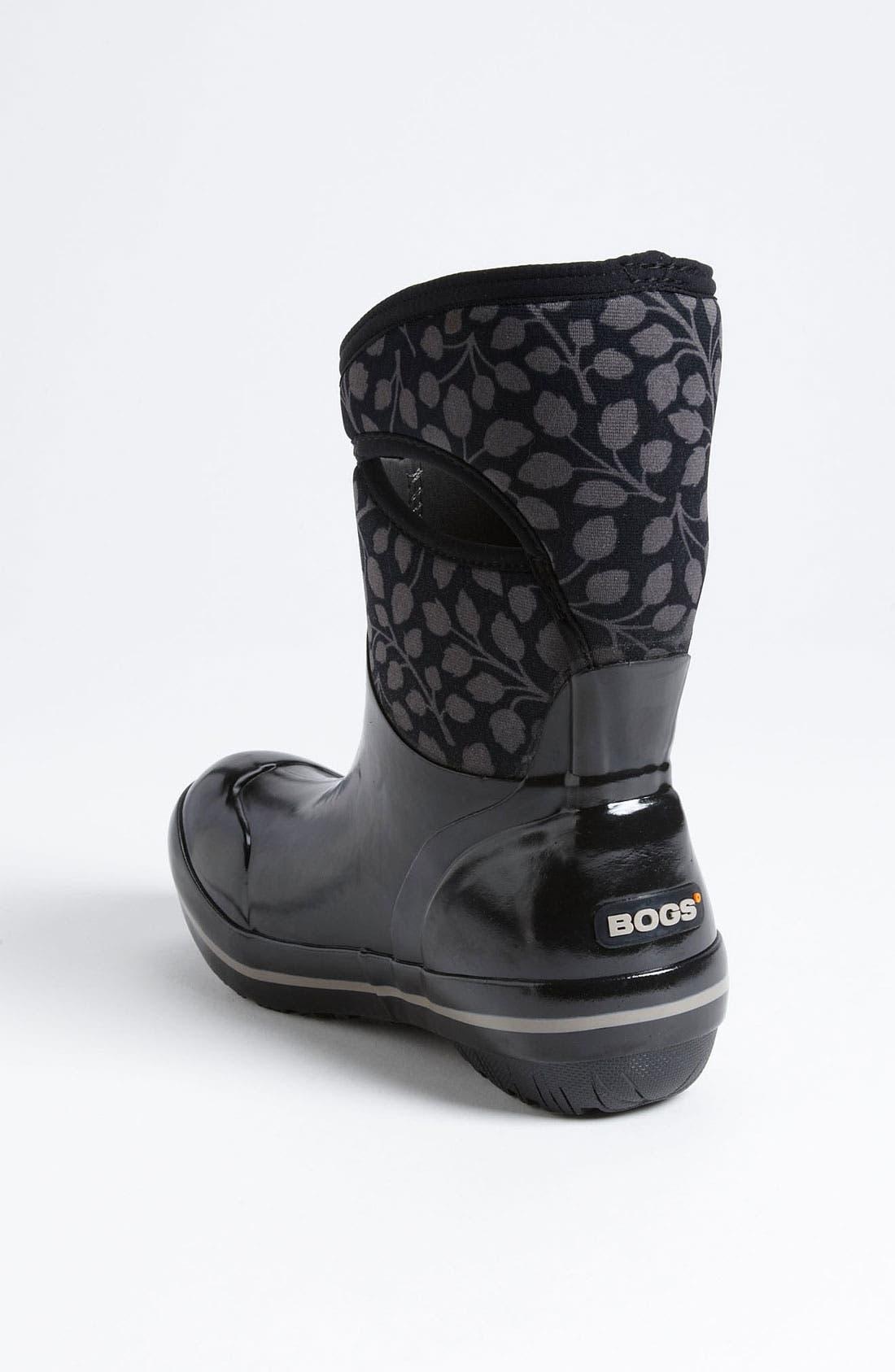 Alternate Image 2  - Bogs 'Plimsoll Mid Leaf' Rain Boot (Women)