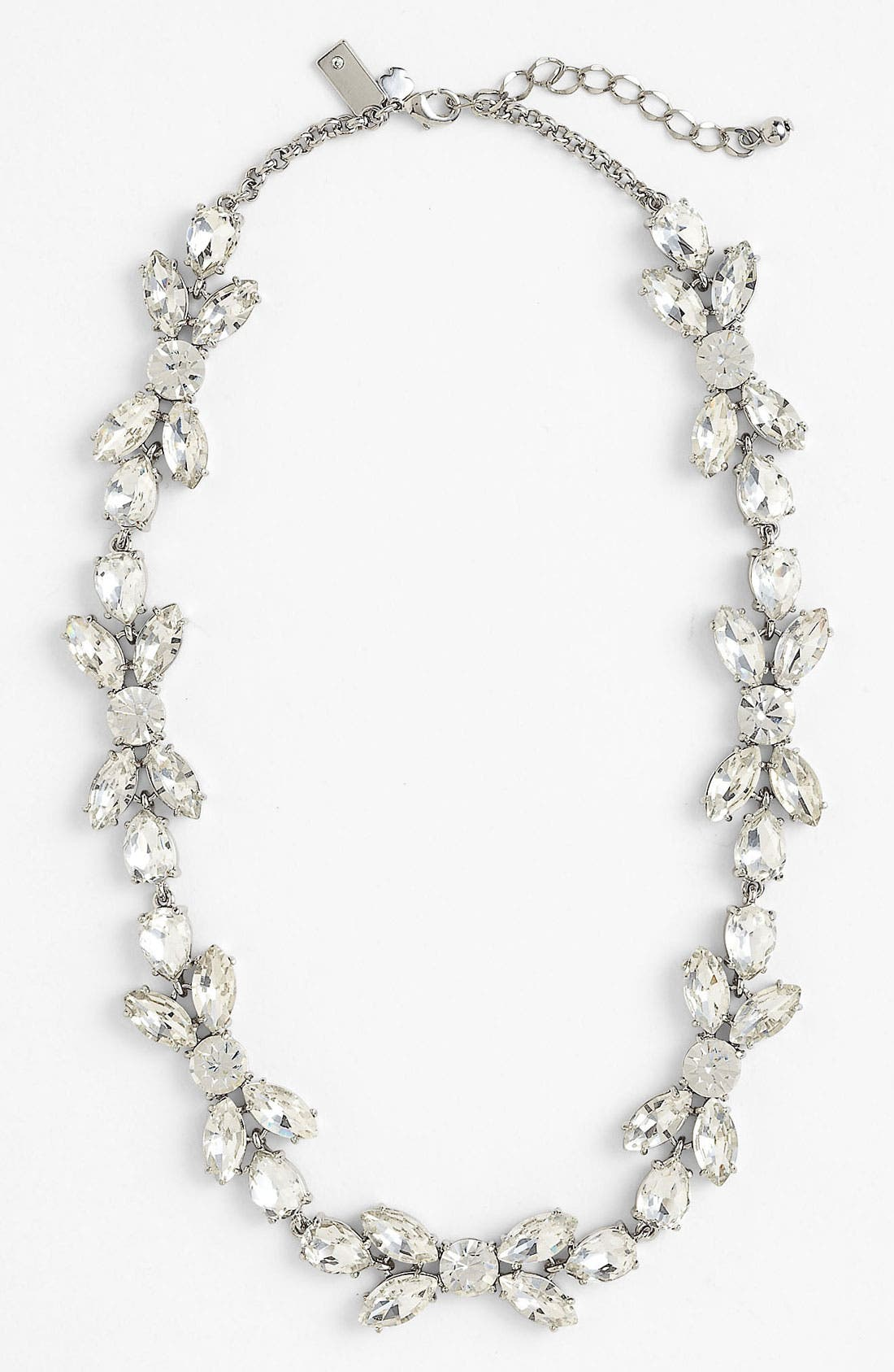 Alternate Image 2  - kate spade new york 'crystal petals' collar necklace