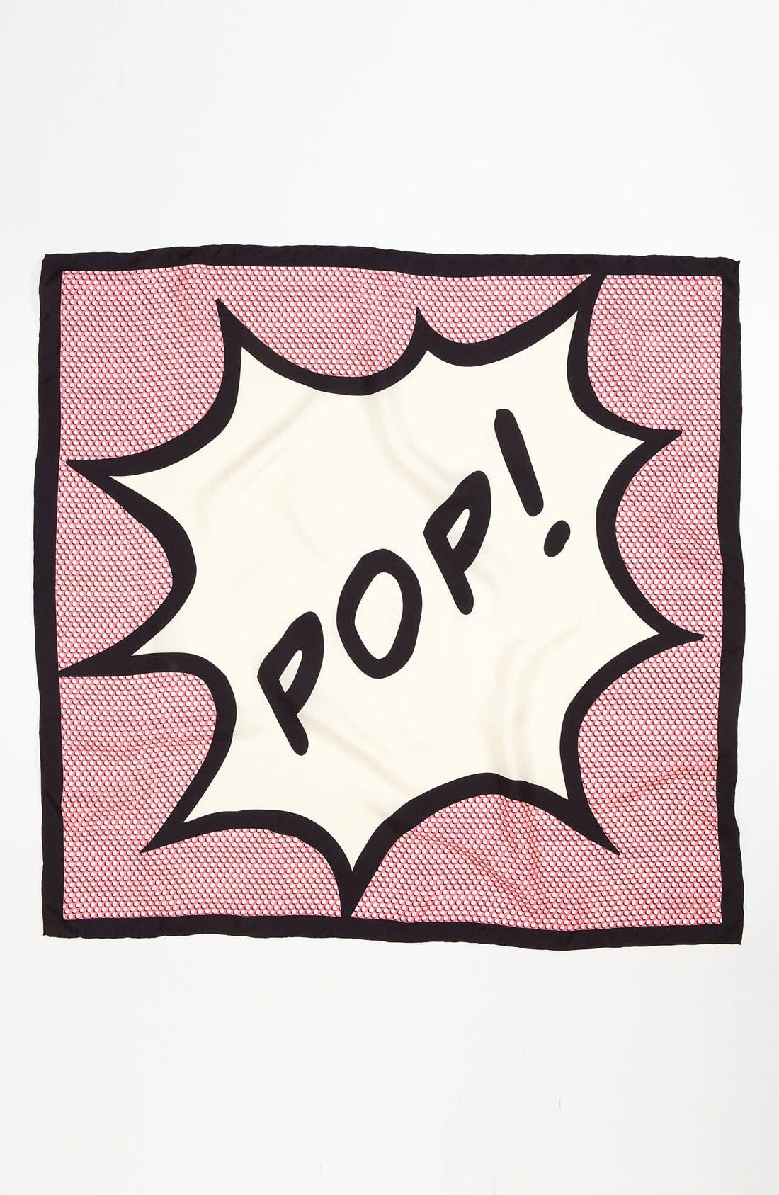 Alternate Image 3  - kate spade new york 'pop' silk scarf