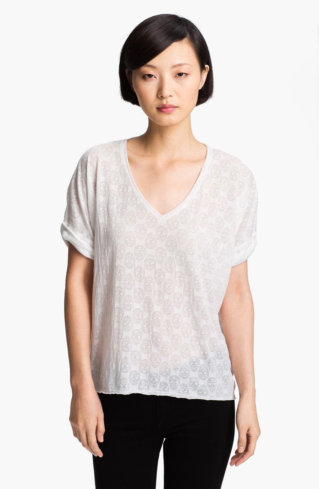 Alternate Image 1 Selected - Zadig & Voltaire 'Bonnie' Burnout Tee