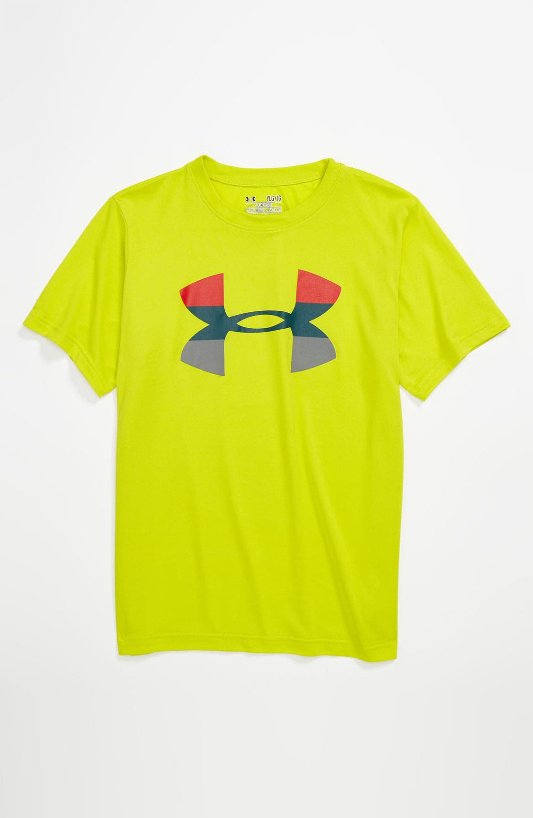 Alternate Image 1 Selected - Under Armour 'Big Logo' T-Shirt (Big Boys)