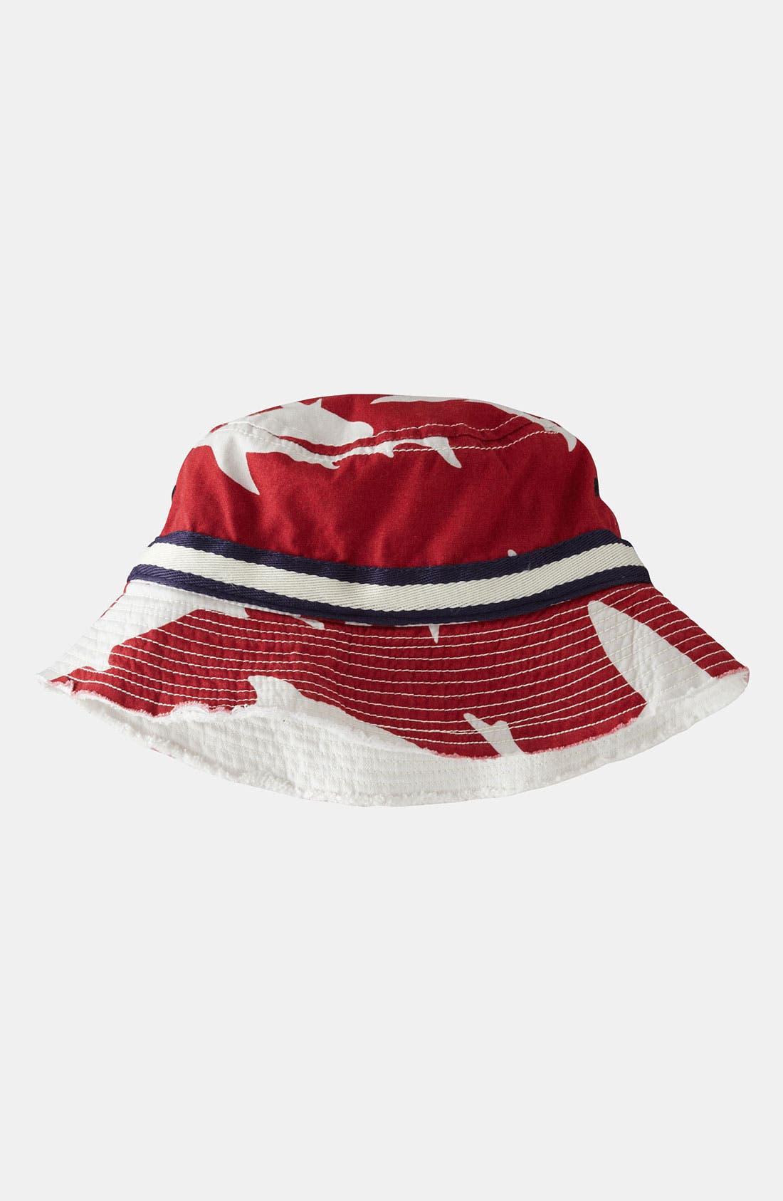 Alternate Image 1 Selected - Mini Boden Fisherman's Hat (Big Boys)
