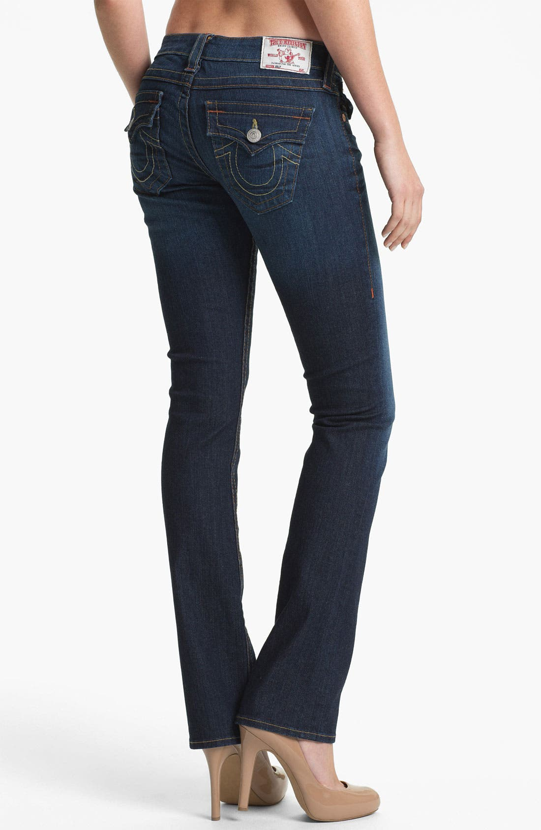 Alternate Image 2  - True Religion Brand Jeans 'Billy' Straight Leg Stretch Jeans (Last Chance)