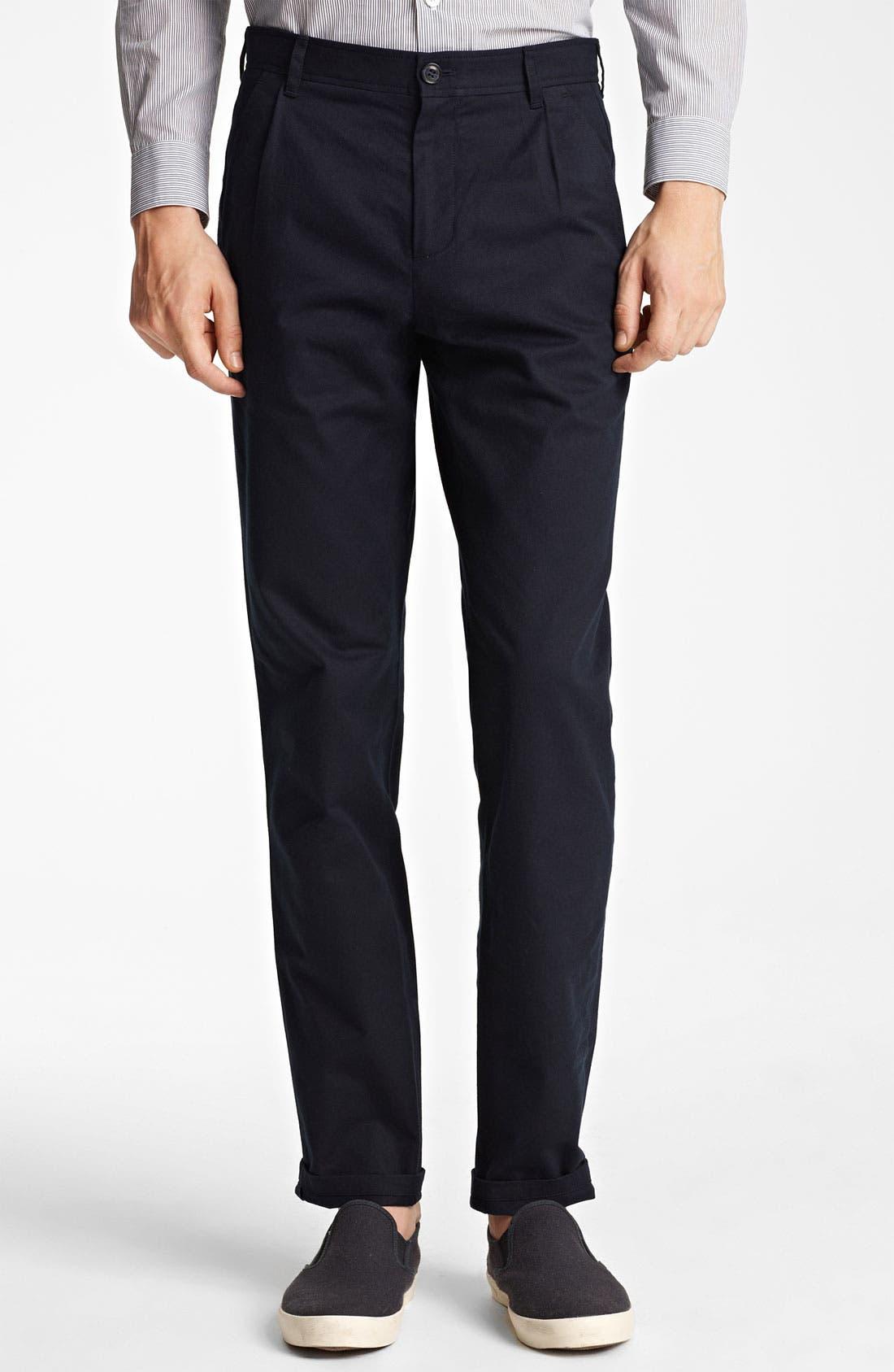 Main Image - A.P.C. Straight Leg Cotton Pants