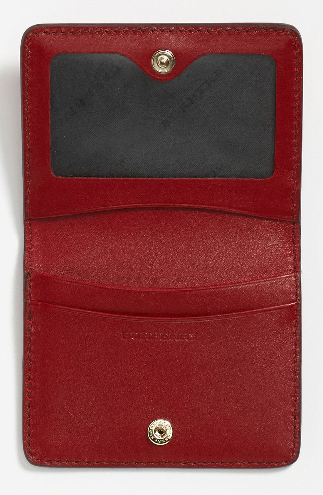 Alternate Image 3  - Burberry Leather Card Wallet