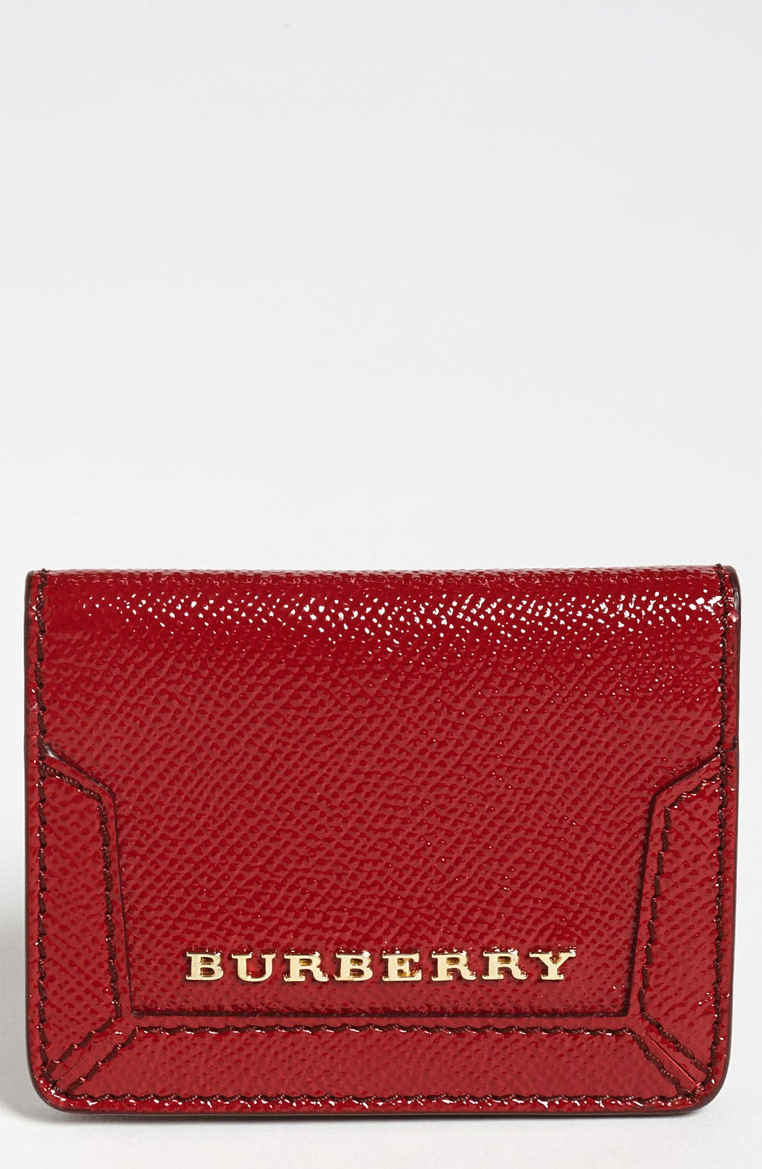 Alternate Image 1 Selected - Burberry Leather Card Wallet