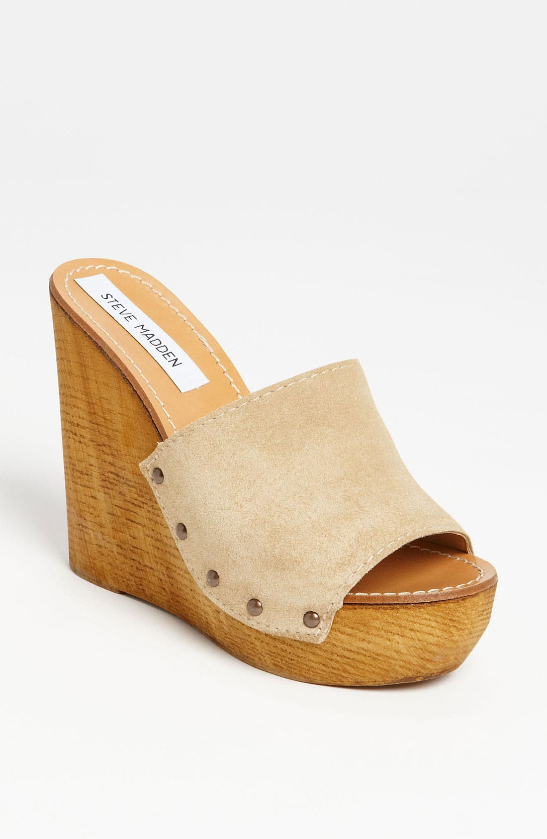 Alternate Image 1 Selected - Steve Madden 'Cedar' Wedge Sandal