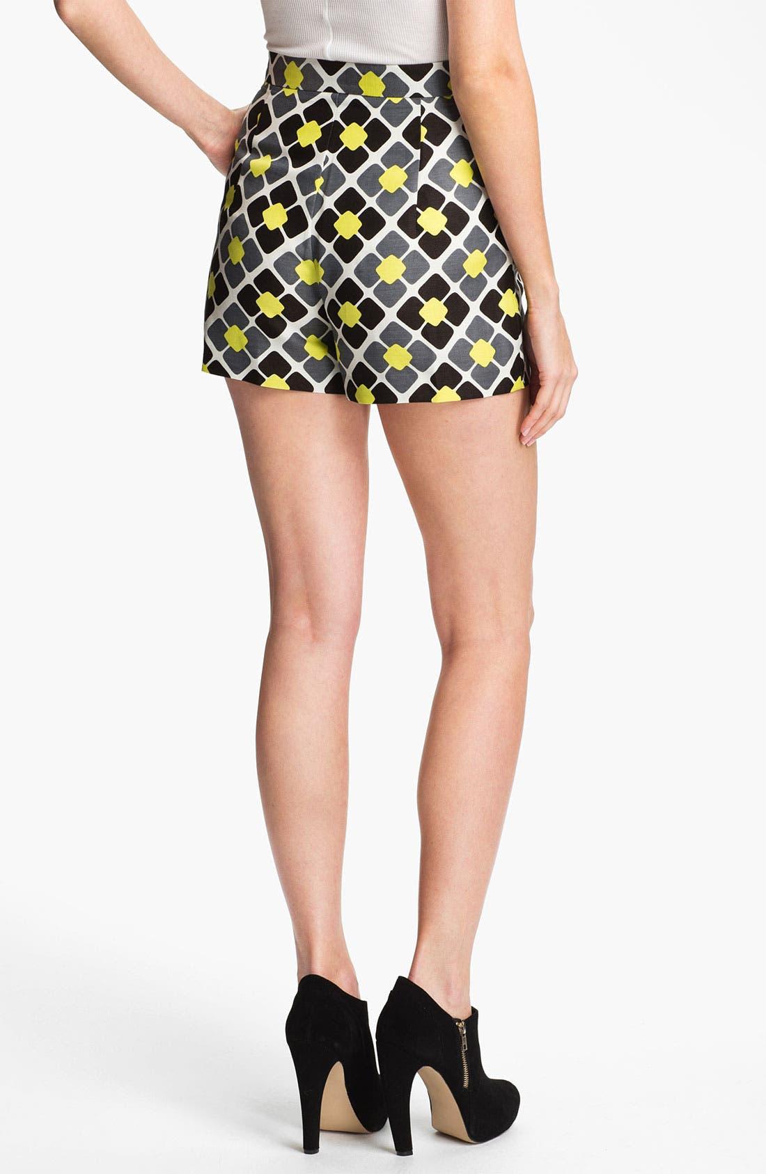 Alternate Image 2  - Milly 'Kelsey' Linen & Silk Shorts