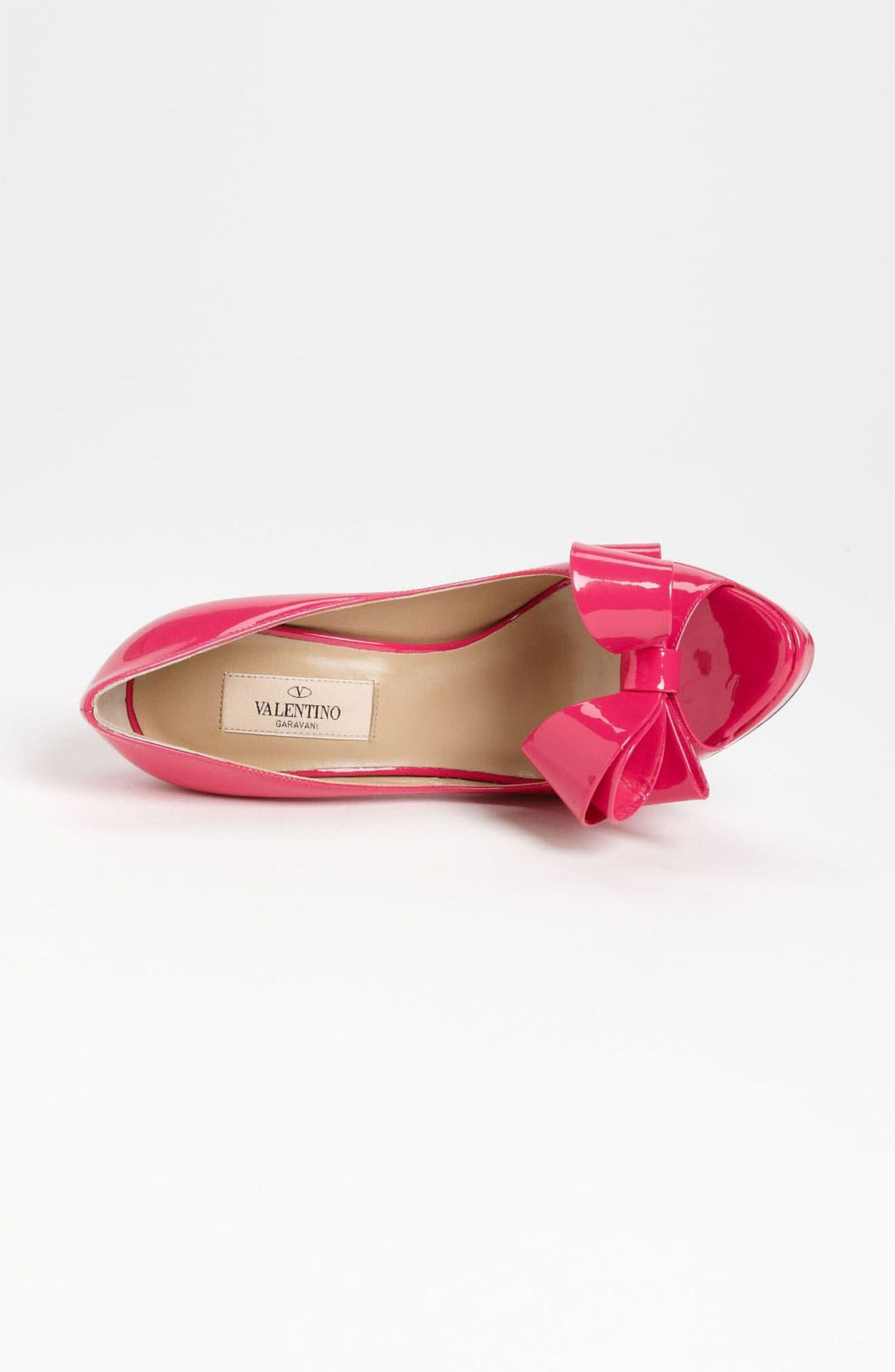 Alternate Image 3  - VALENTINO GARAVANI Couture Bow Platform Pump (Women)