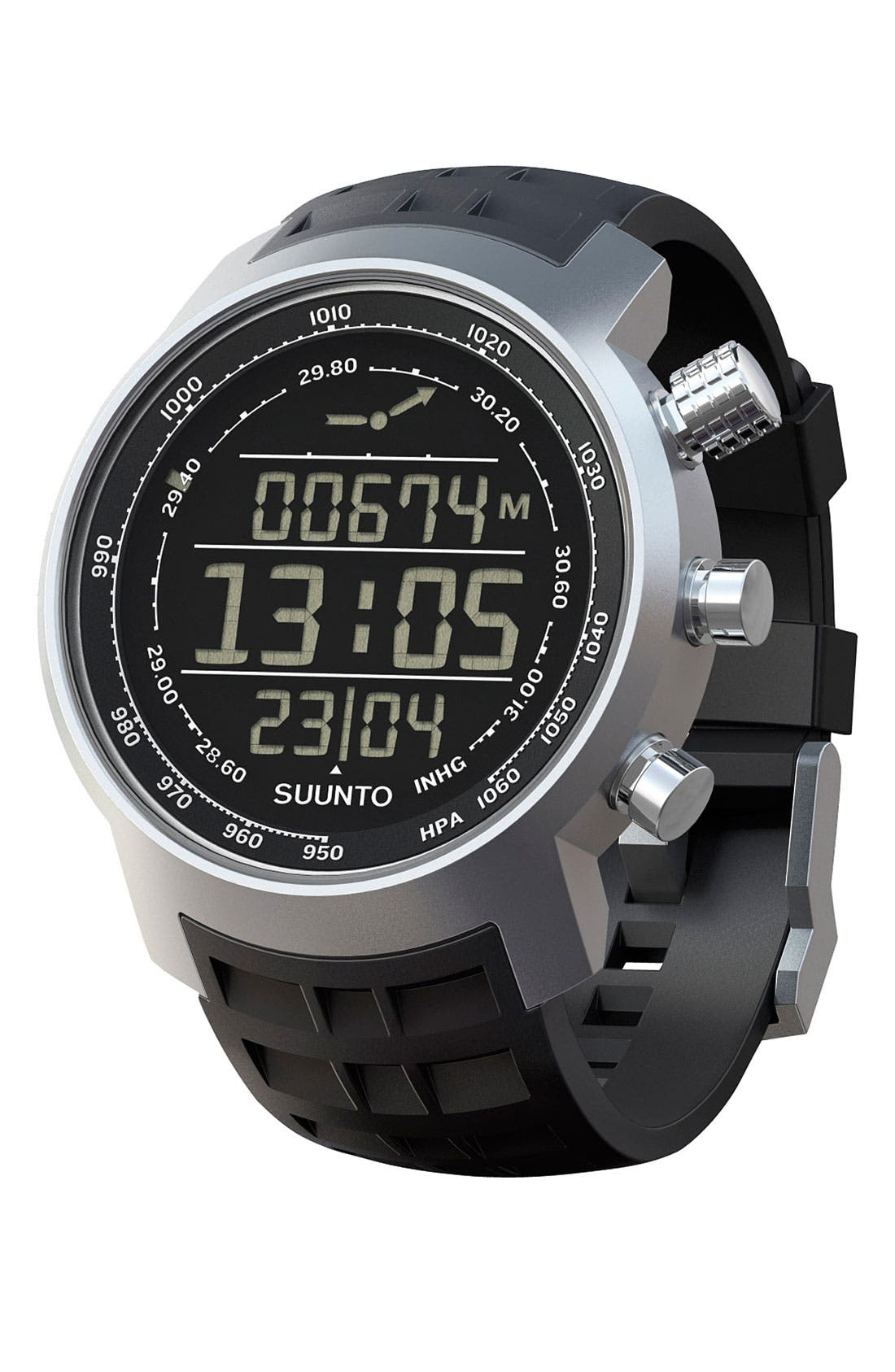 Alternate Image 2  - Suunto 'Terra' Rubber Strap Watch, 44mm