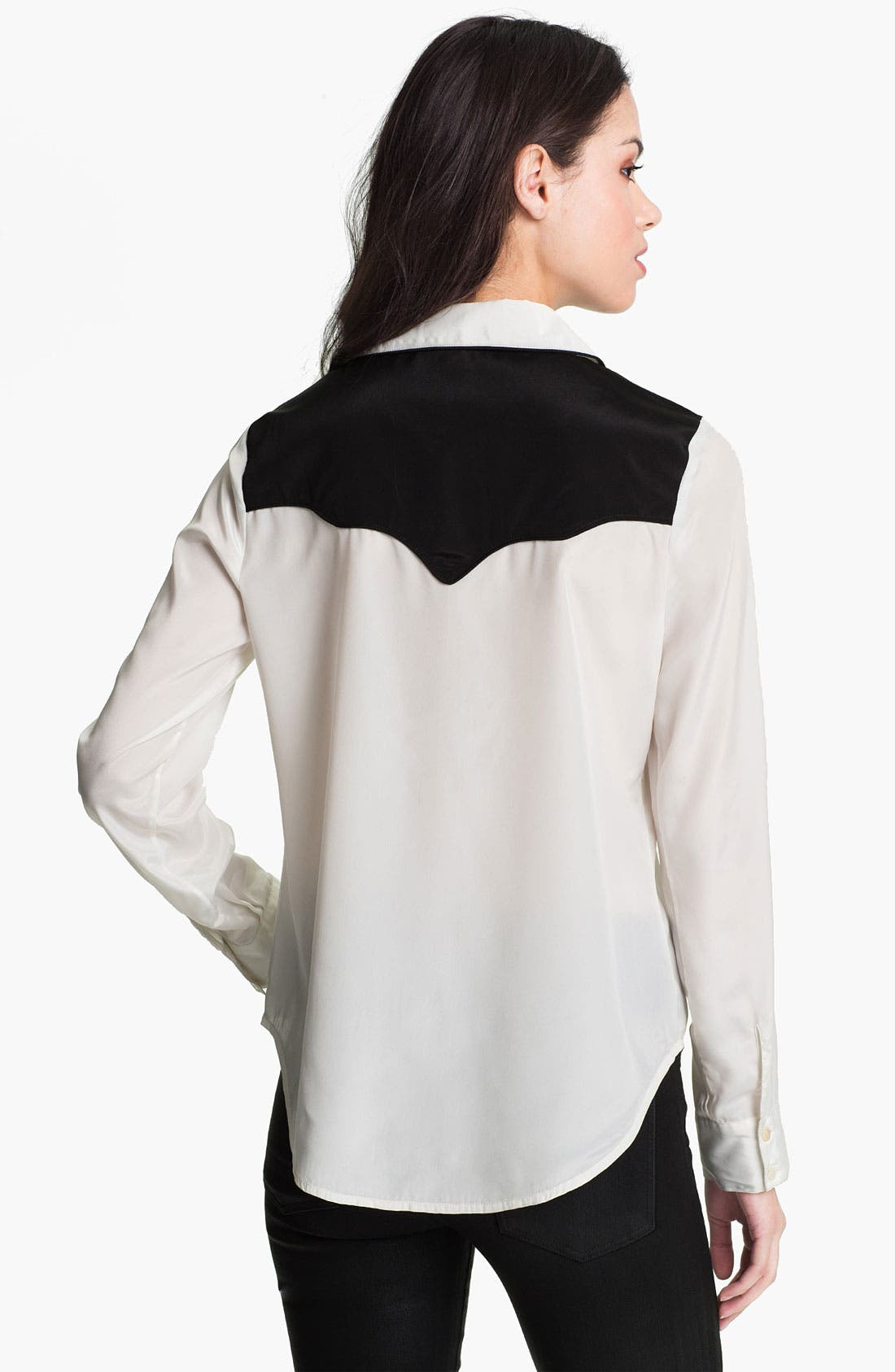 Alternate Image 2  - Sanctuary Embroidered Western Shirt