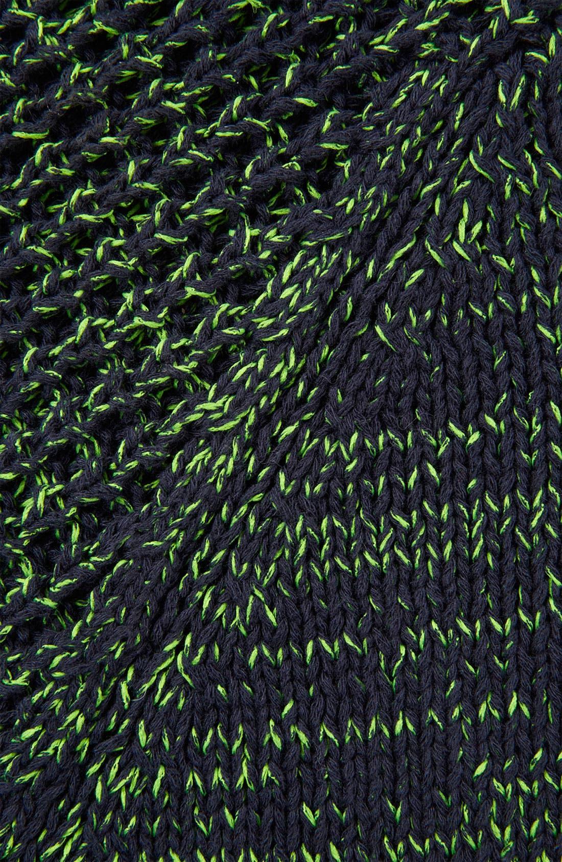 Alternate Image 3  - Topshop Neon Mélange Sweater