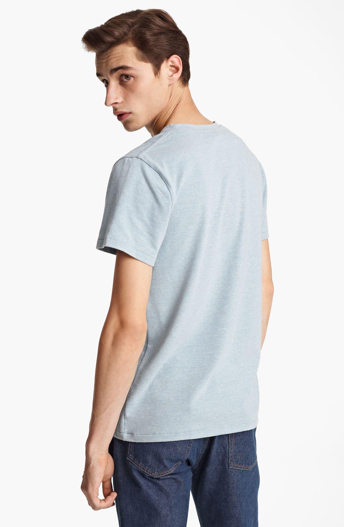 Alternate Image 2  - A.P.C. Heathered T-Shirt