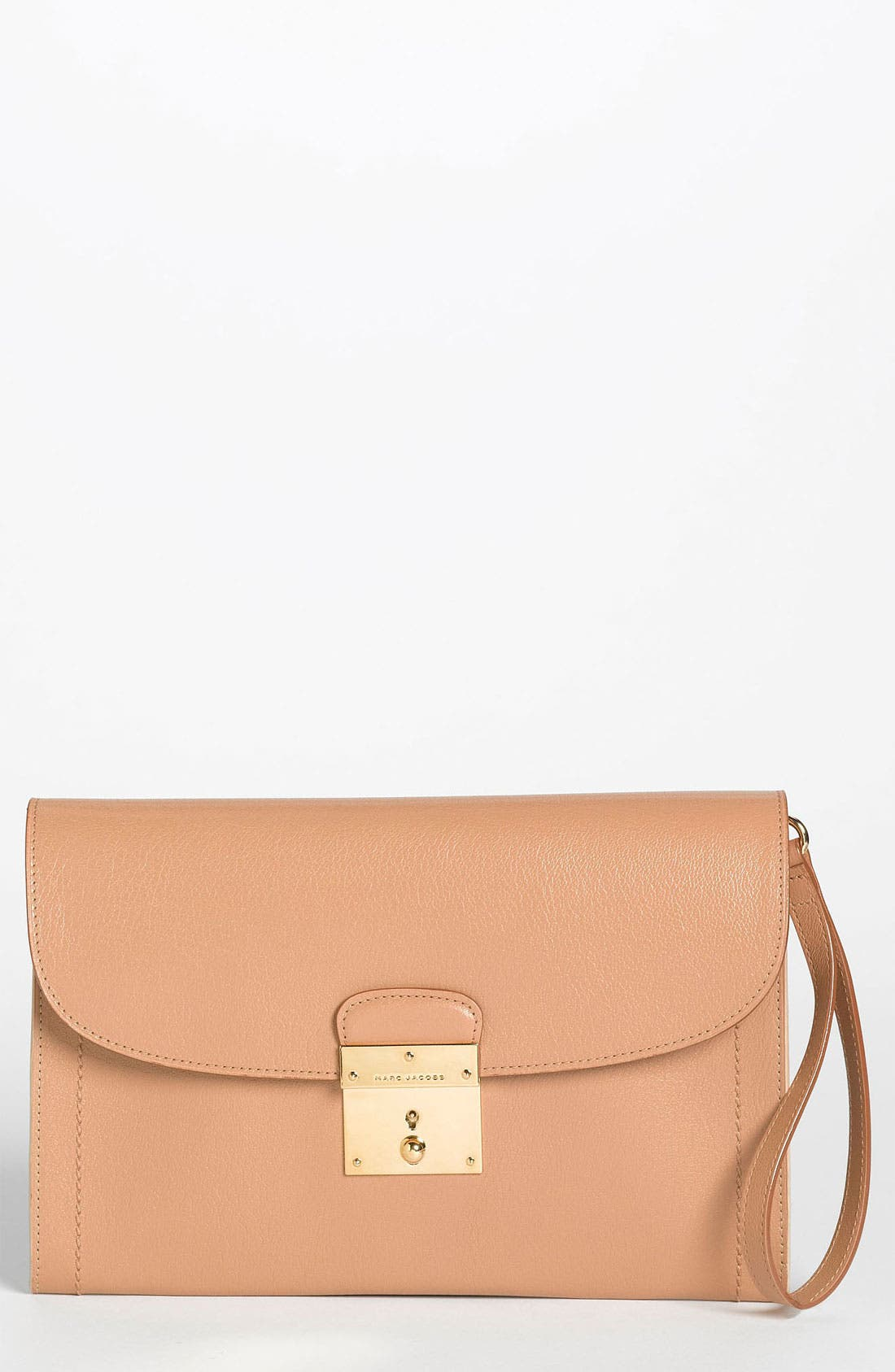 Main Image - MARC JACOBS '1984 Isobel' Leather Clutch