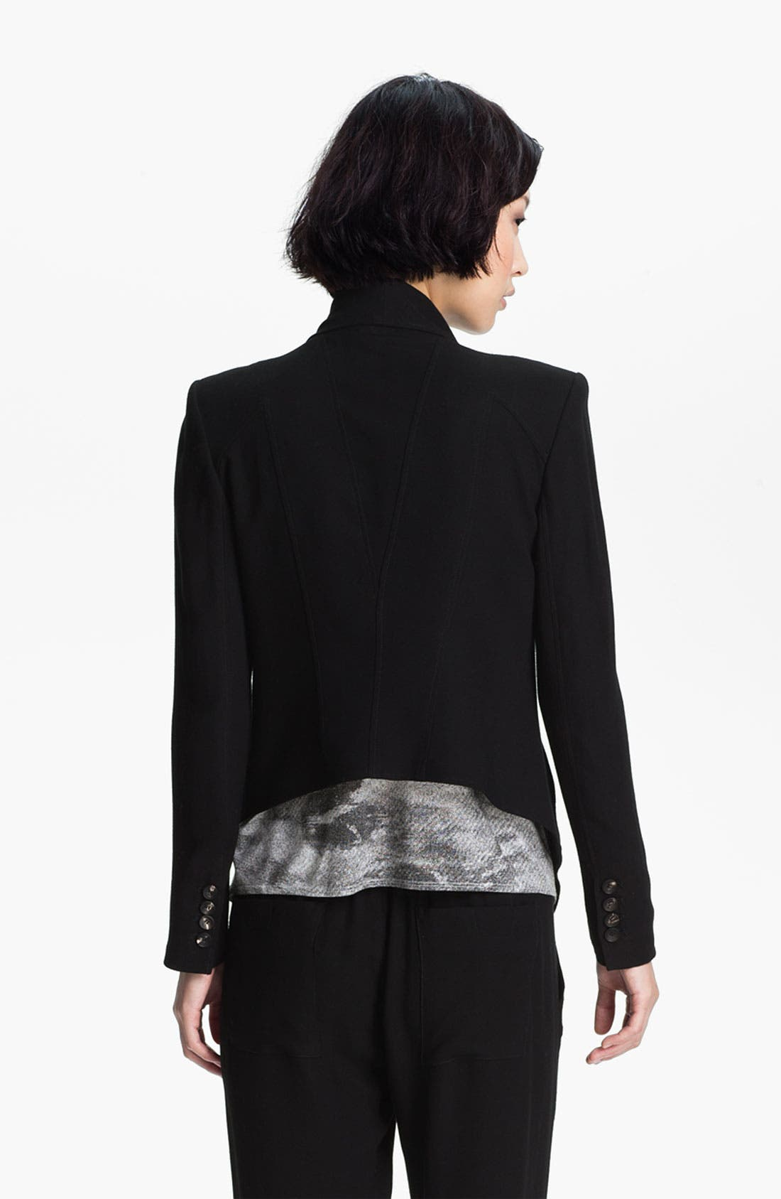 Alternate Image 2  - HELMUT Helmut Lang 'Flash' Draped Blazer