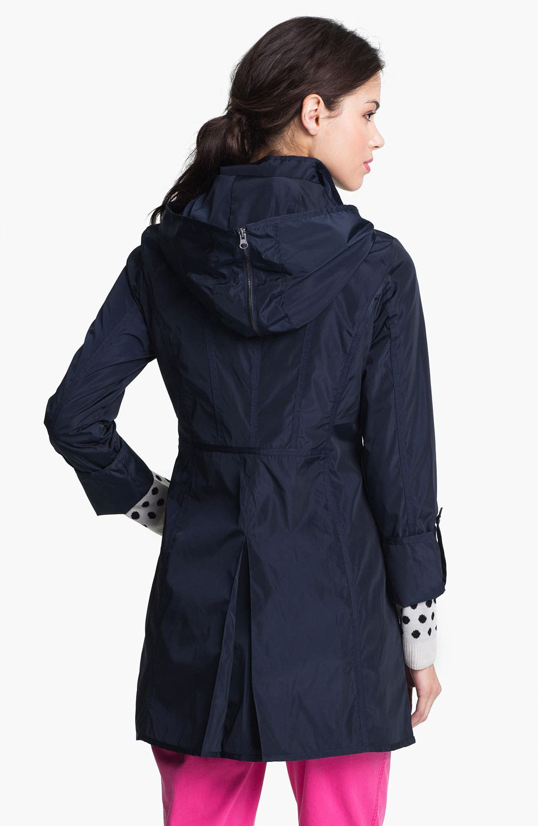 Alternate Image 2  - DKNY Anorak with Detachable Split Hood