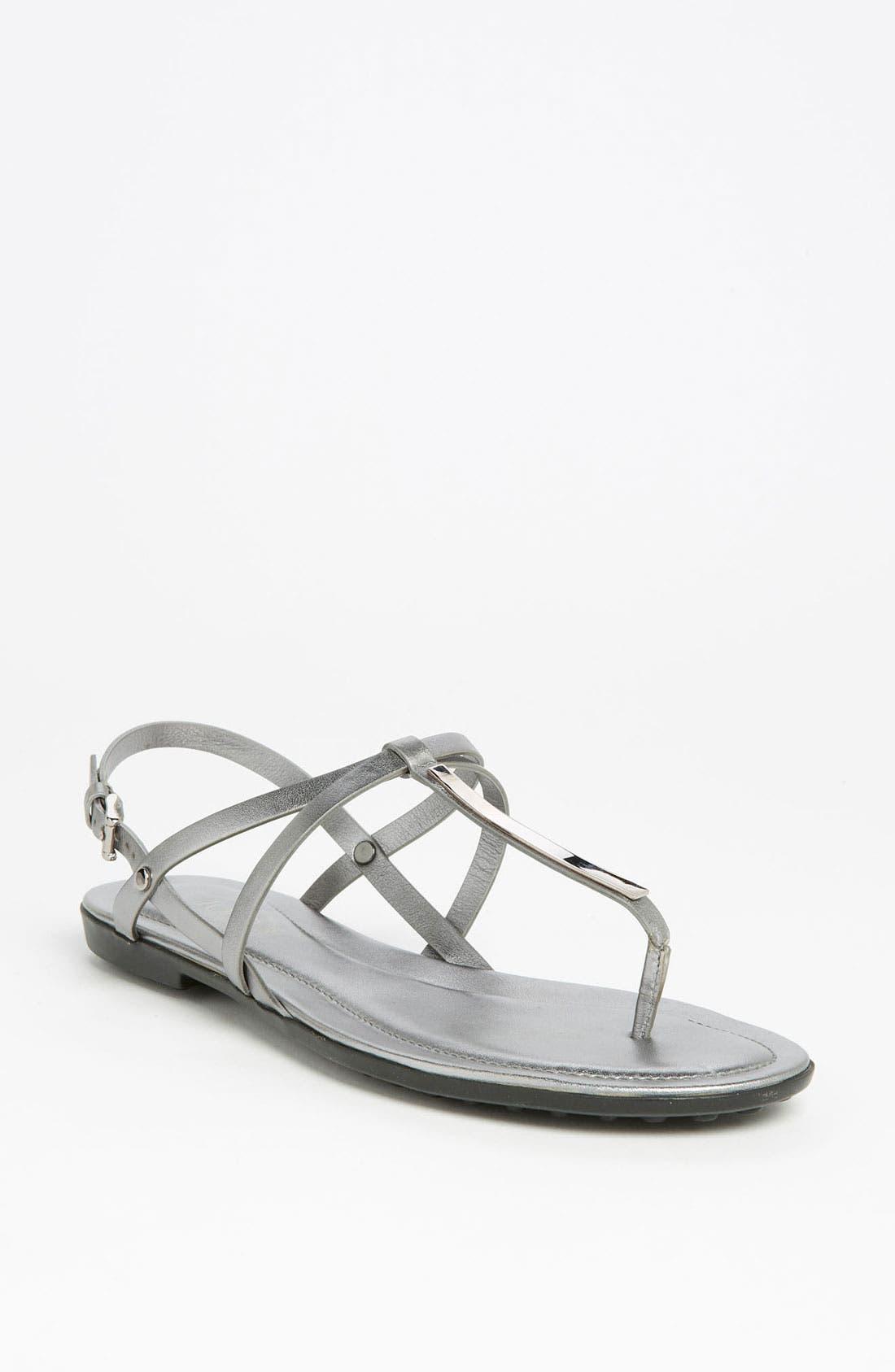 Alternate Image 1 Selected - Tod's 'Gomma' Sandal