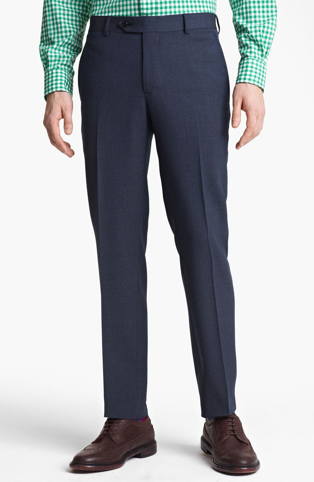 Main Image - Brooks Brothers by Jeffrey Wool Trousers