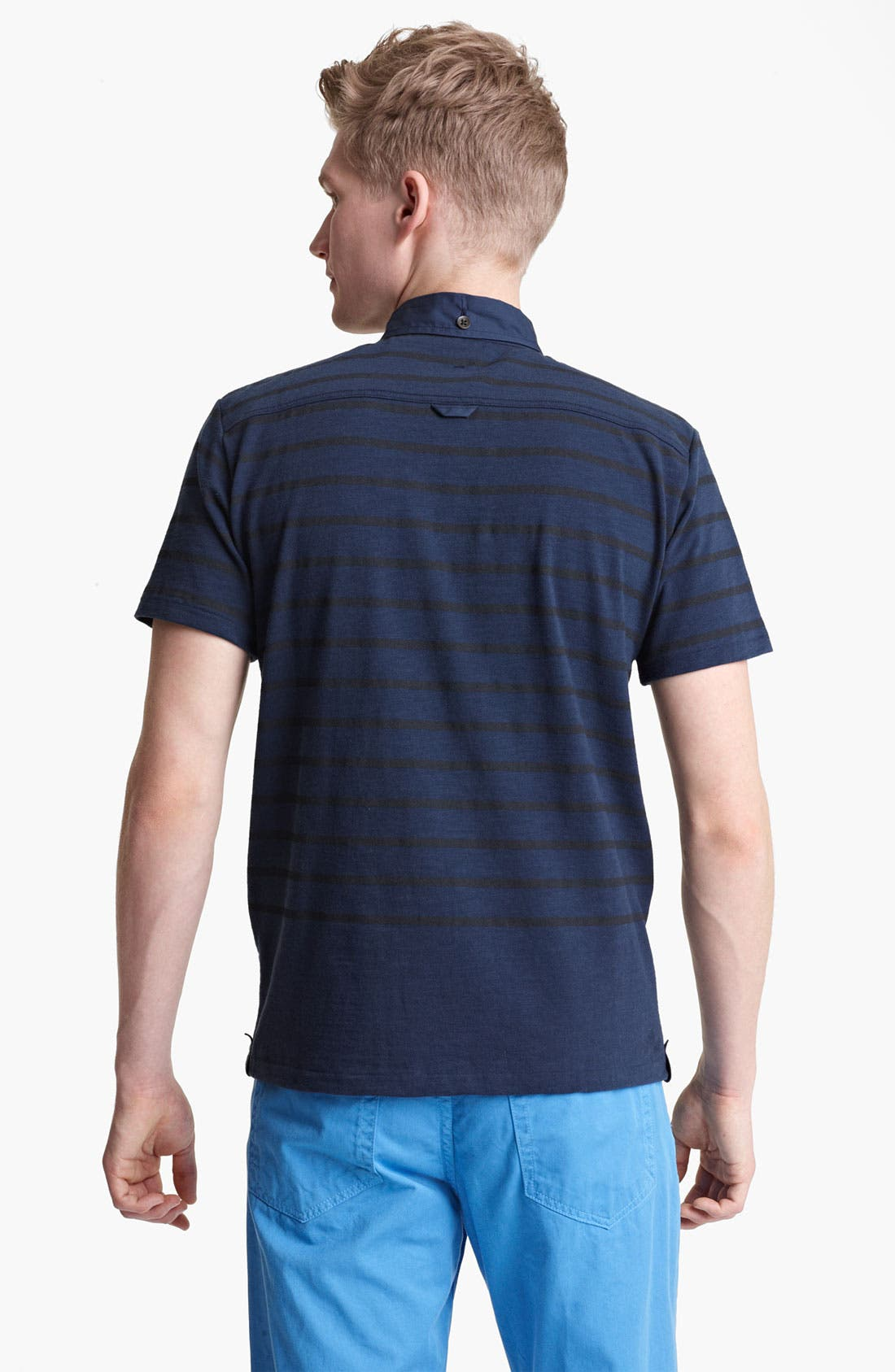 Alternate Image 2  - rag & bone Stripe Polo