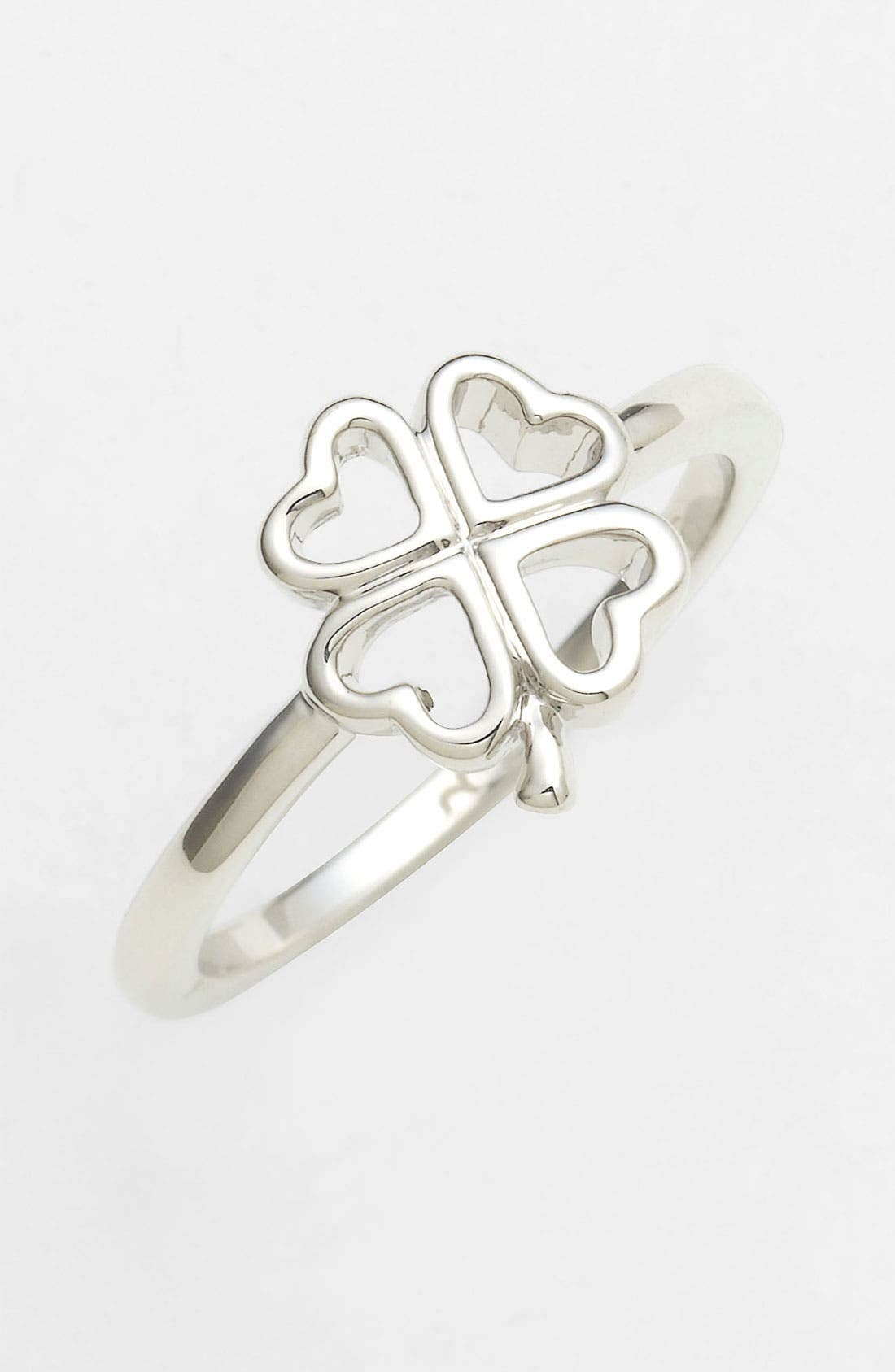 Main Image - Ariella Collection Clover Ring
