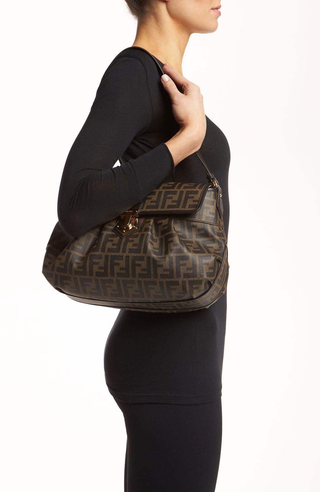 Alternate Image 2  - Fendi 'Tomorrow Zucca - Small' Shoulder Bag