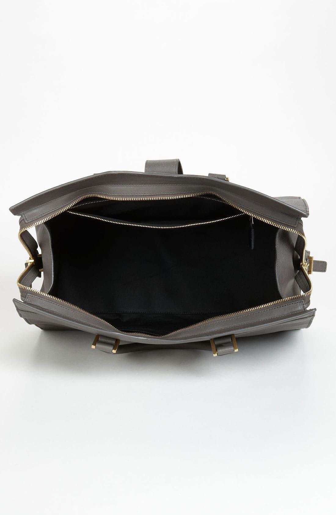 Alternate Image 3  - Saint Laurent 'Ligne Y' Leather Satchel, Large