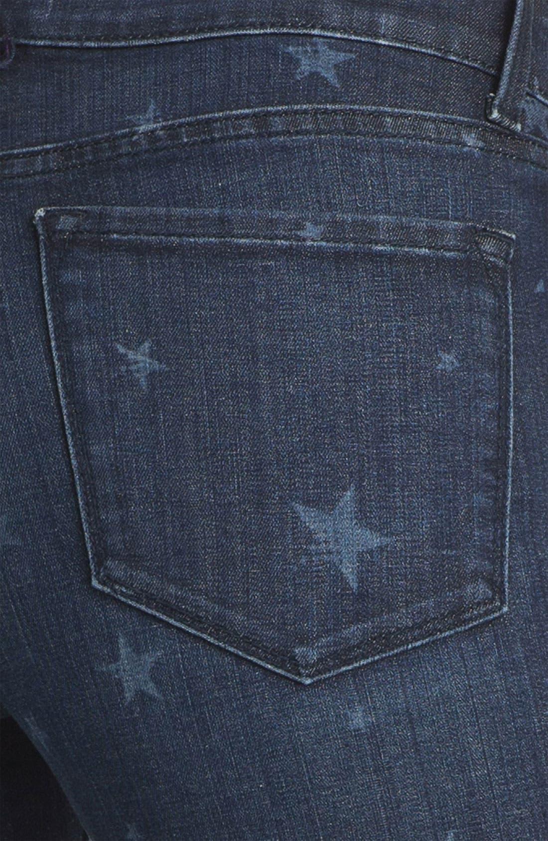 Alternate Image 3  - NYDJ 'Sheri' Star Print Skinny Jeans