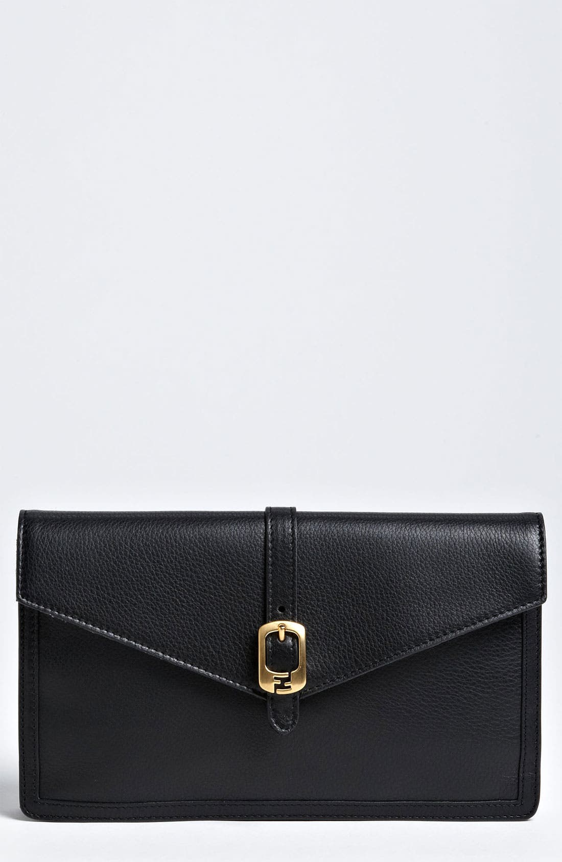 Main Image - Fendi Leather Envelope Clutch