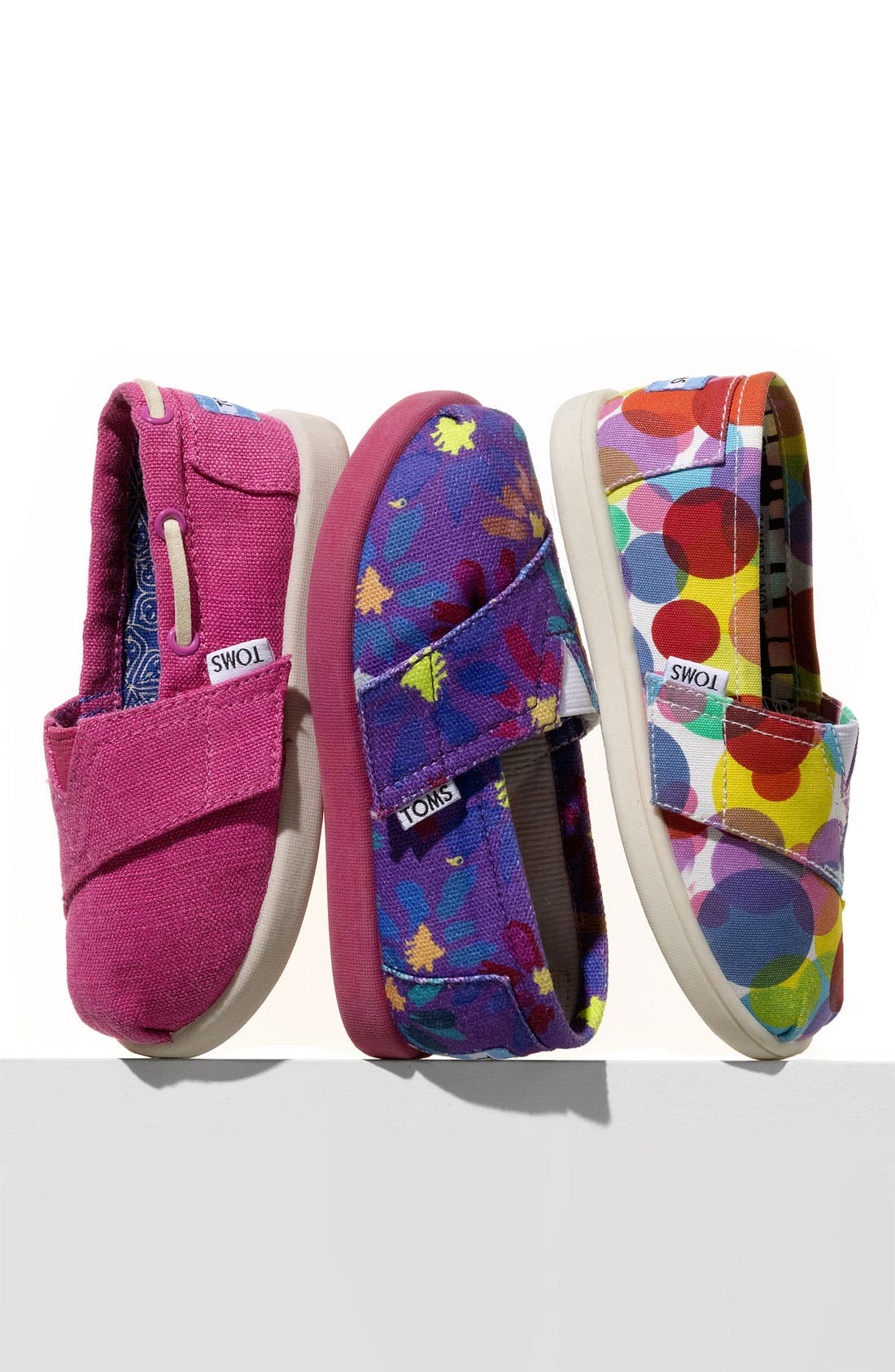 Alternate Image 5  - TOMS 'Classic - Tiny' Slip-On (Baby, Walker & Toddler)