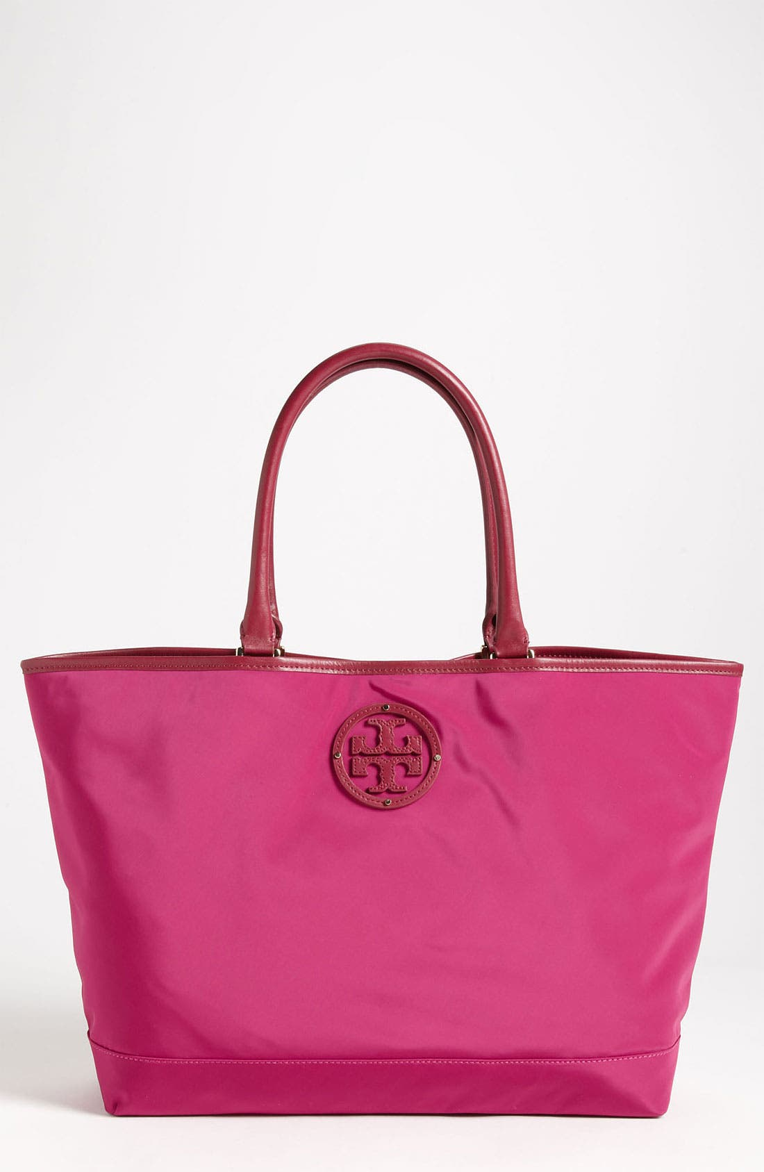Main Image - Tory Burch Stacked Logo Tote